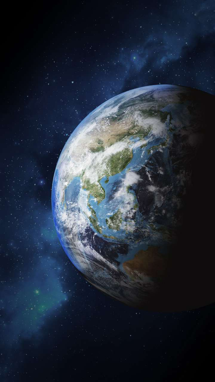 Earth From Space iPhone Wallpaper