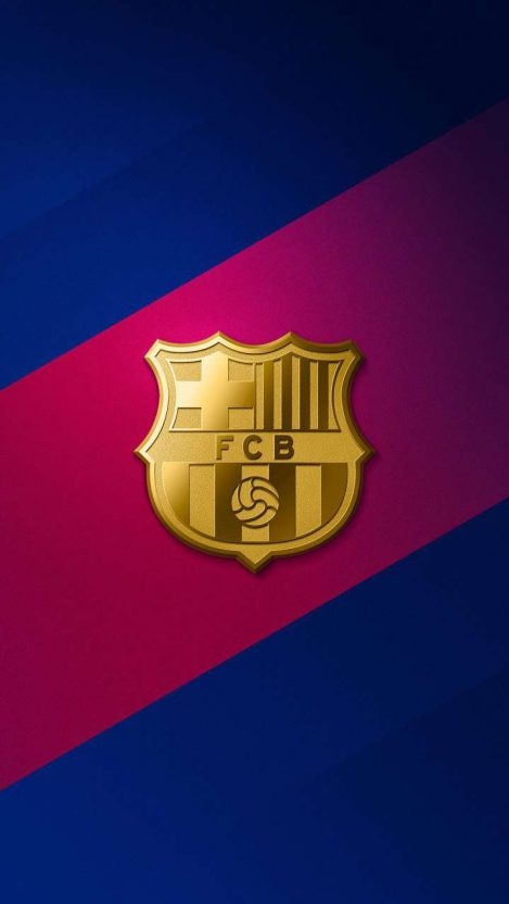 FCB Football iPhone Wallpaper