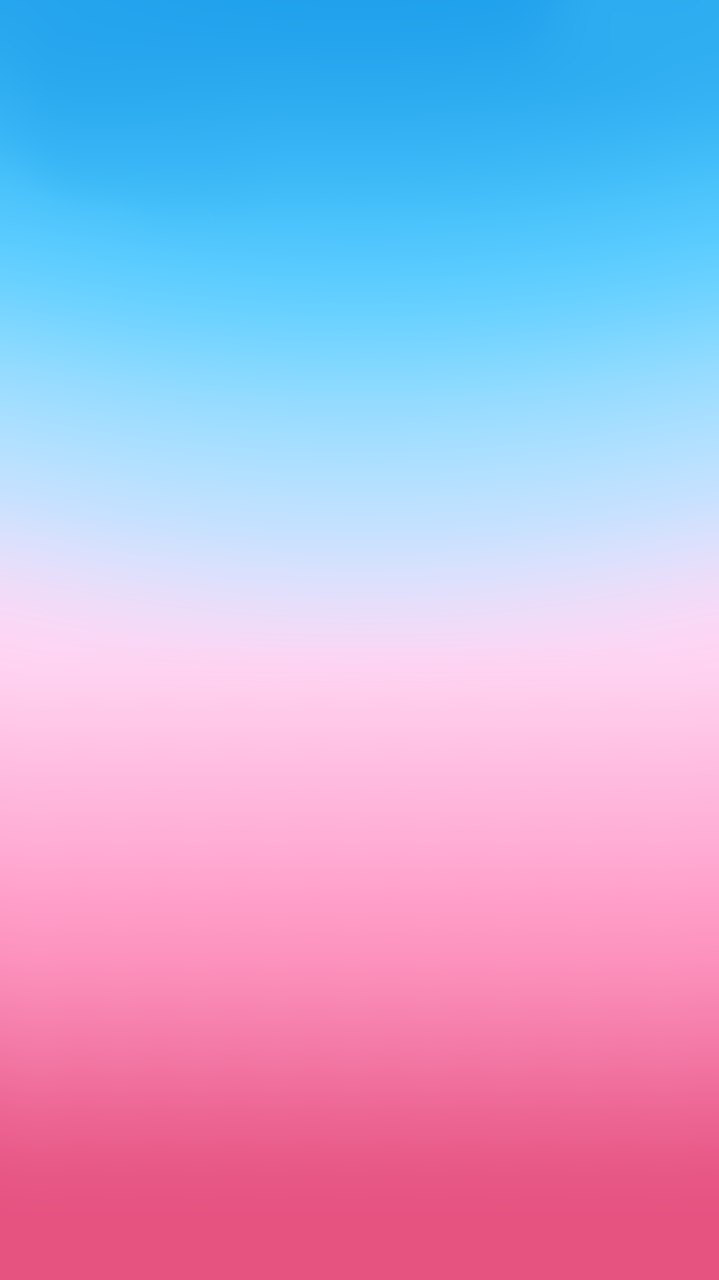Gradient Blue Pink iPhone Wallpaper