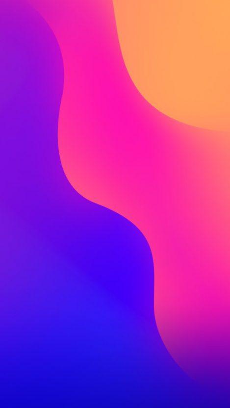 Gradient Colours Background iPhone Wallpaper