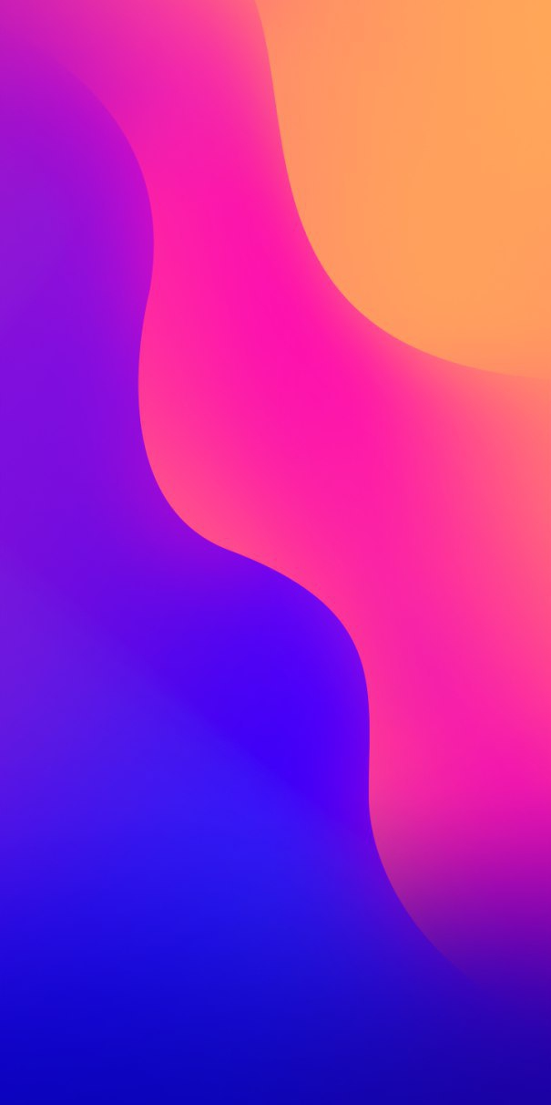 Gradient Colours Background iPhone Wallpaper