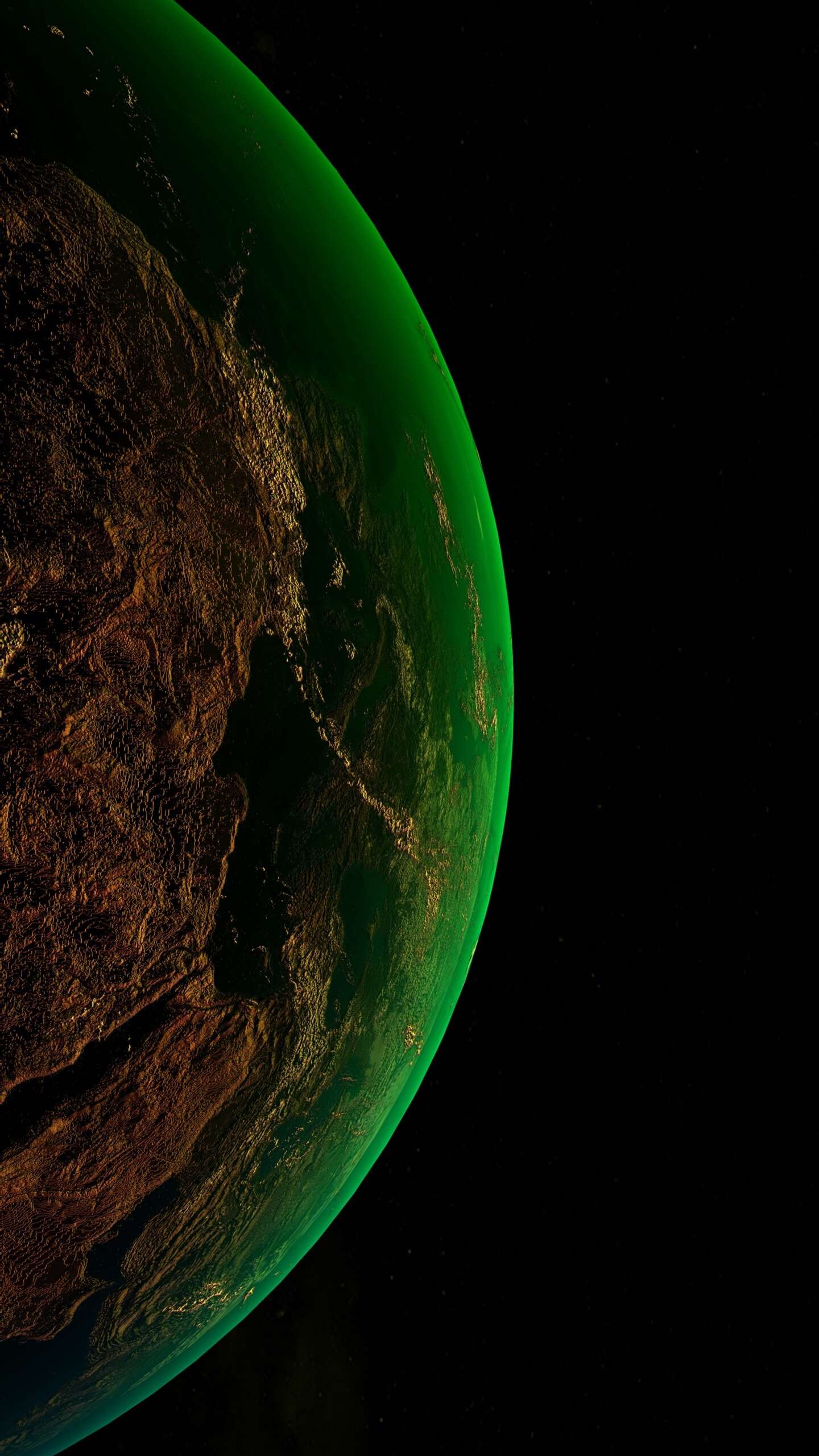 Green Planet iPhone Wallpaper - iPhone Wallpapers : iPhone ...