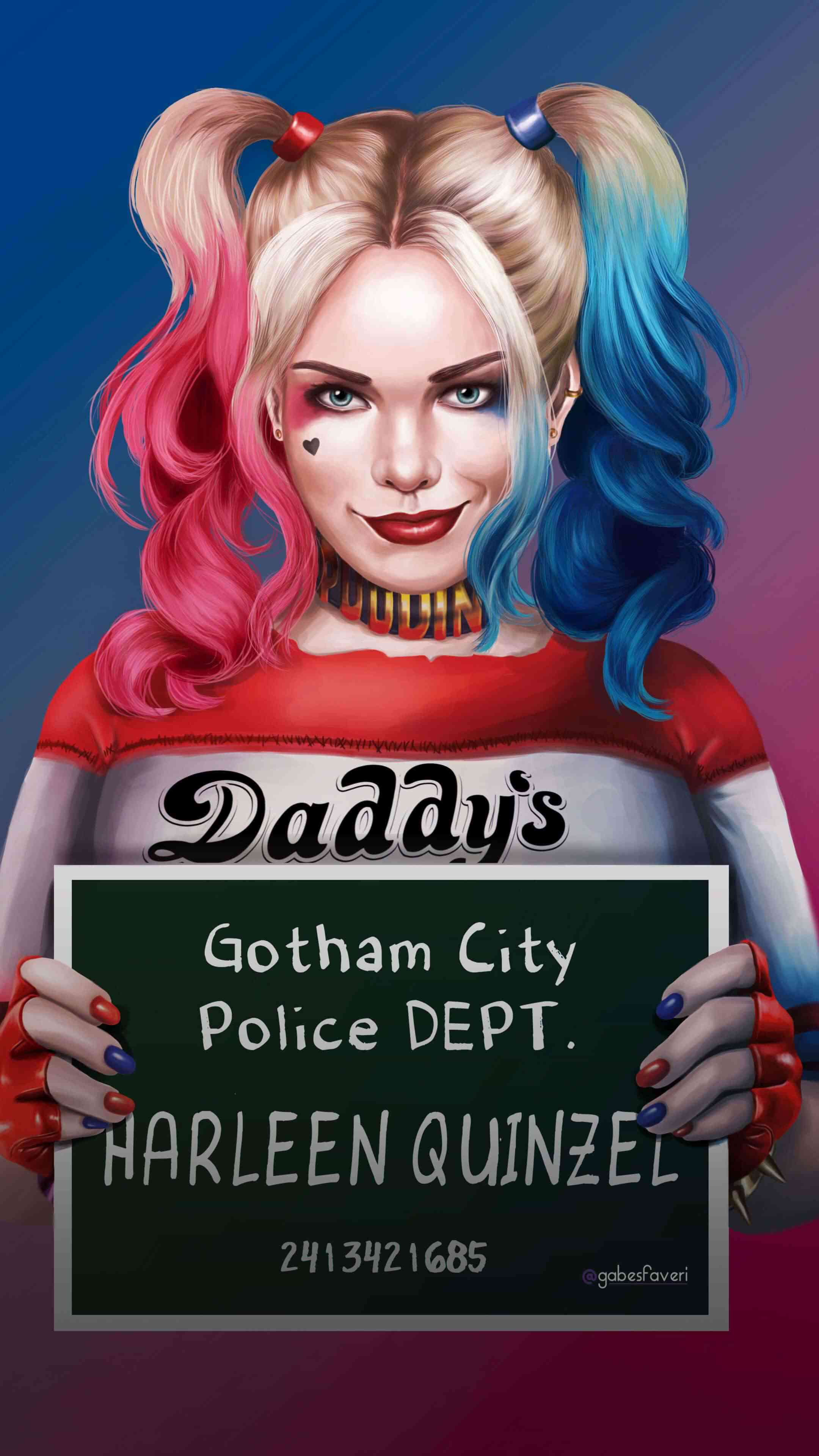 Harley Quinn HD iPhone Wallpaper