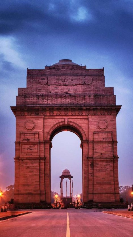 India Gate iPhone Wallpaper