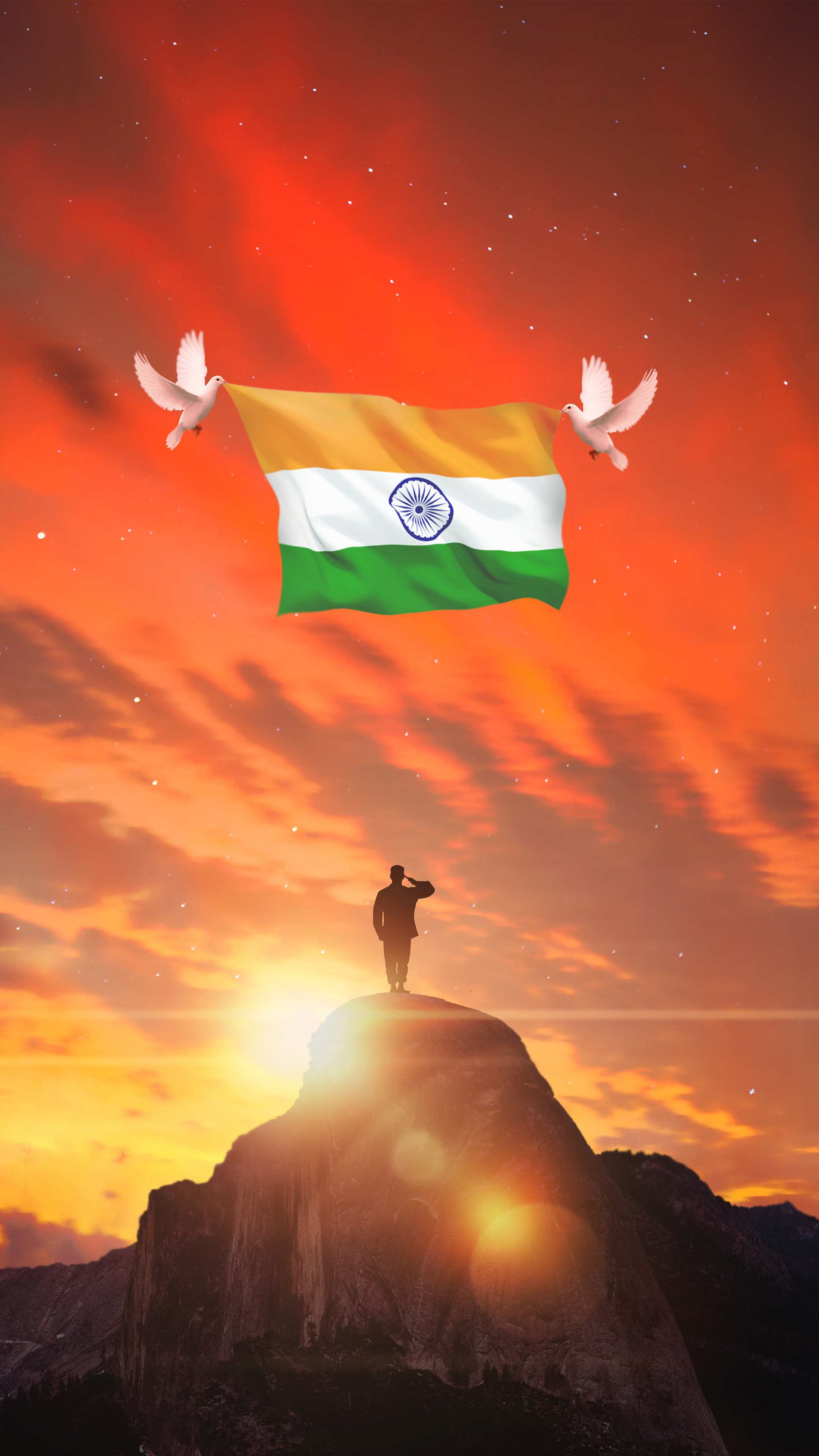 India Republic Day iPhone Wallpaper