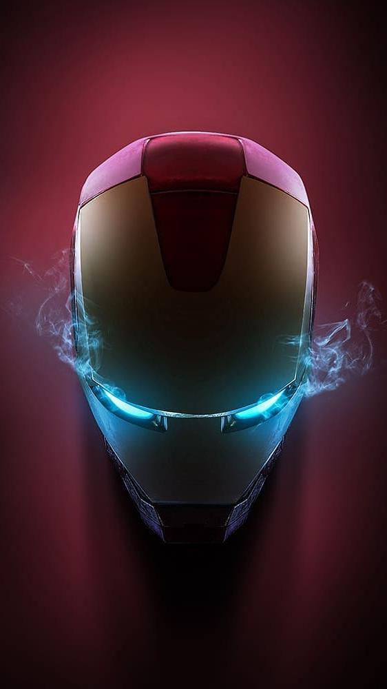 Iron Man Helmet Art HD iPhone Wallpaper