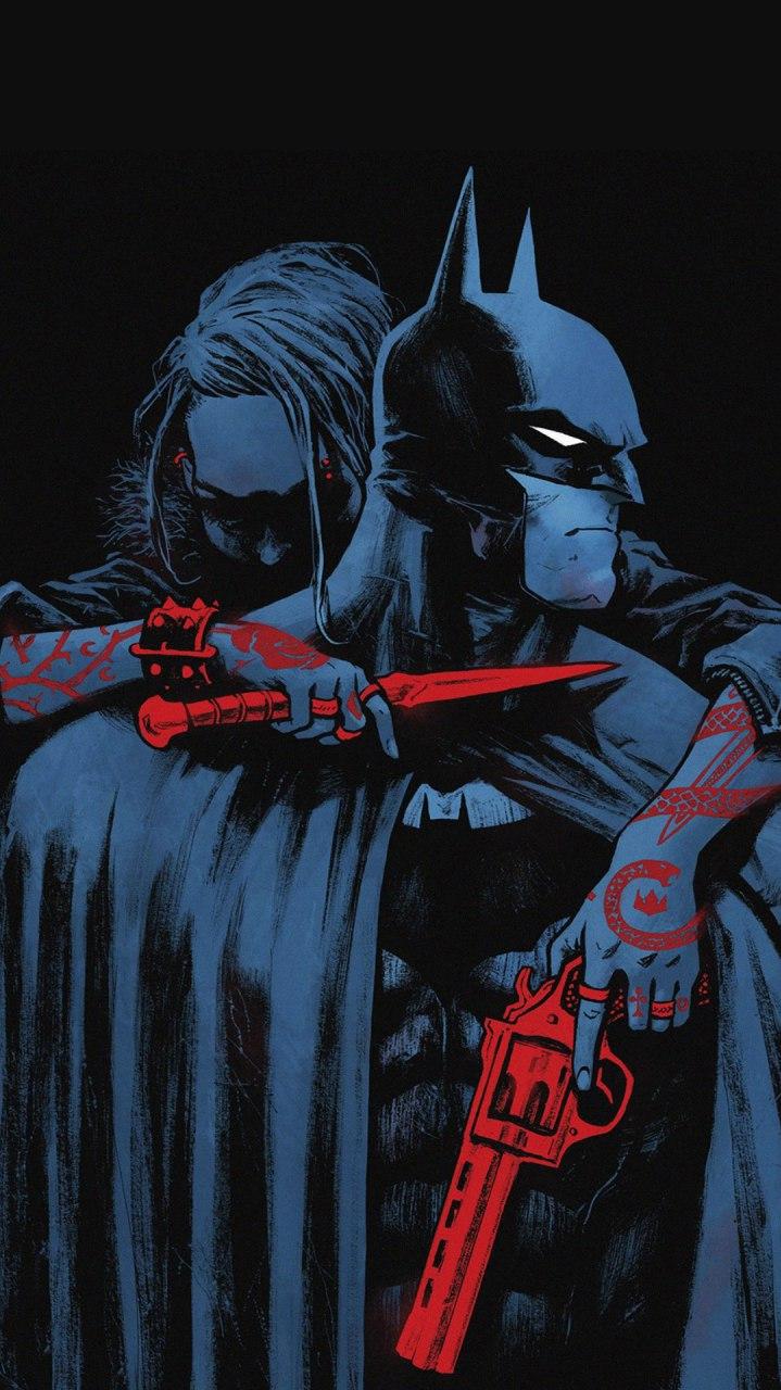 Kill the Batman iPhone Wallpaper