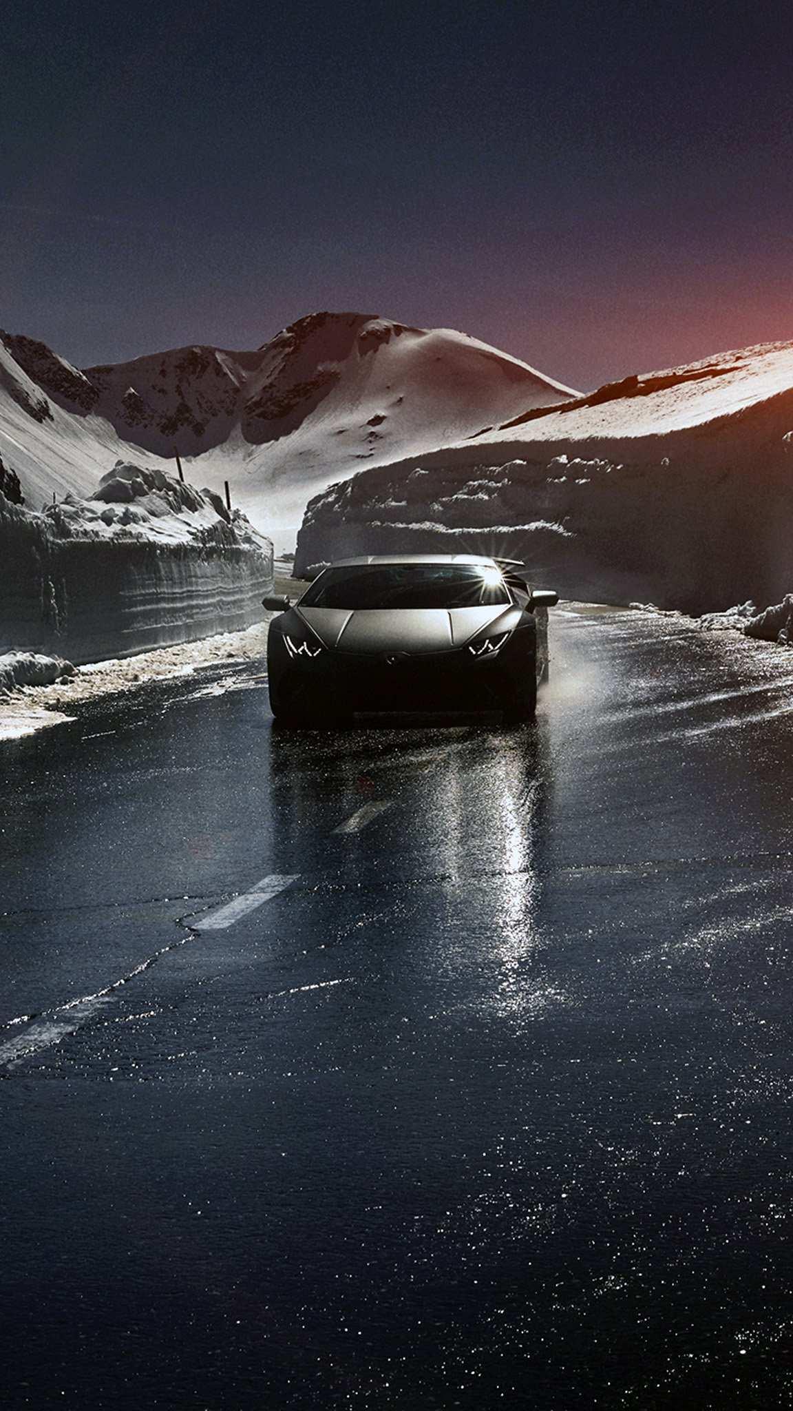 Lamborghini Black Wallpaper