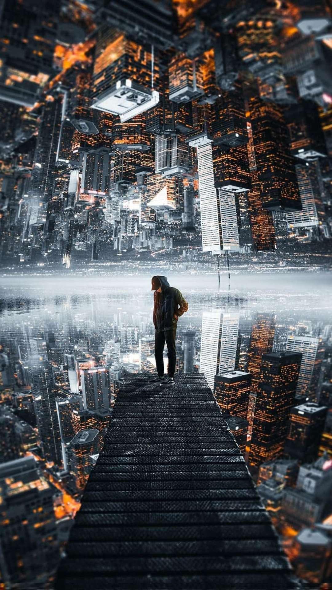 Man and City Wallpaper