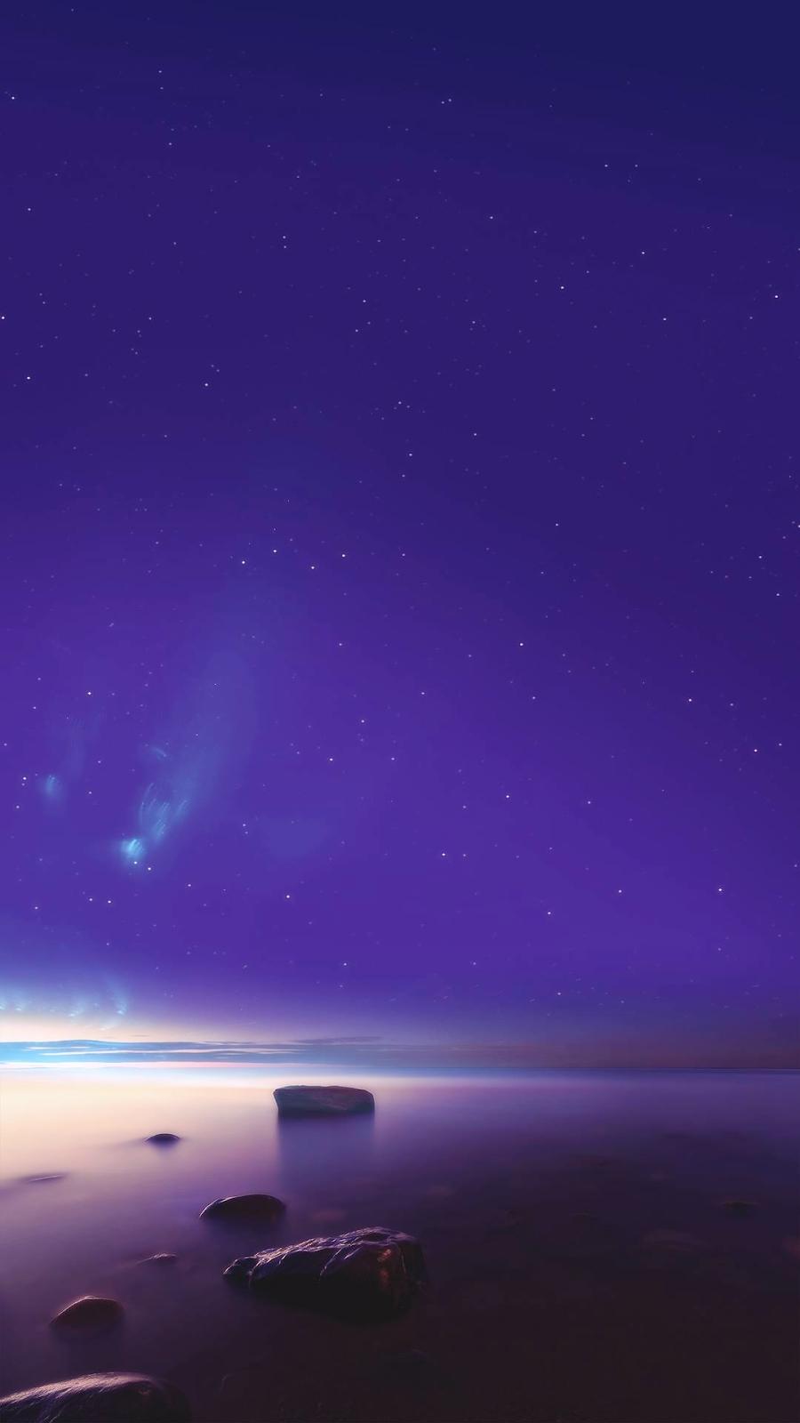 Ocean Horizon iPhone Wallpaper