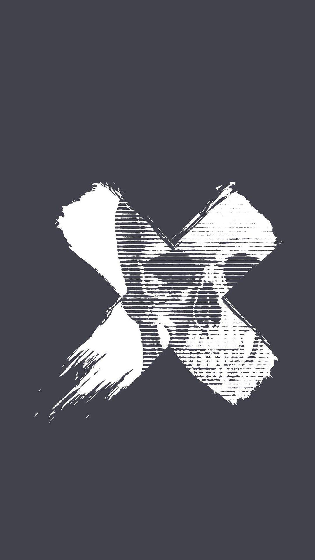 Skull X iPhone Wallpaper