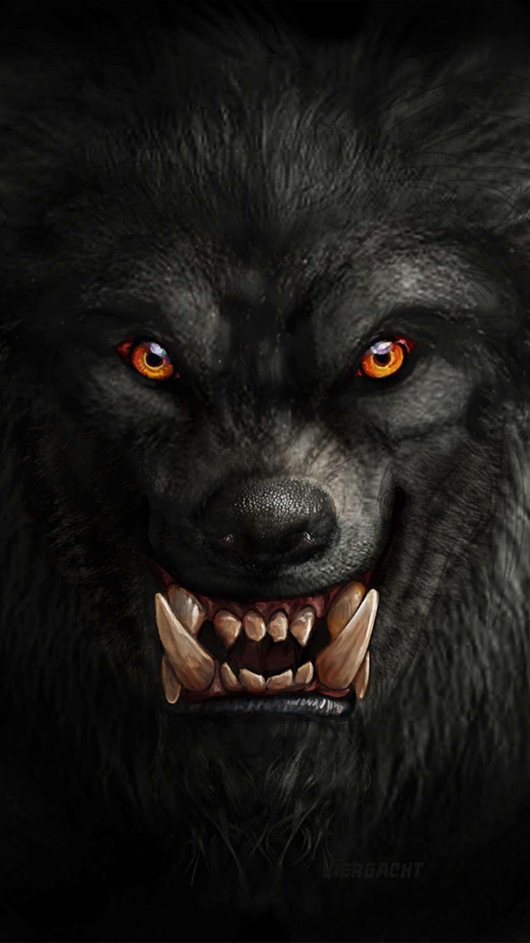 Warewolf iPhone Wallpaper