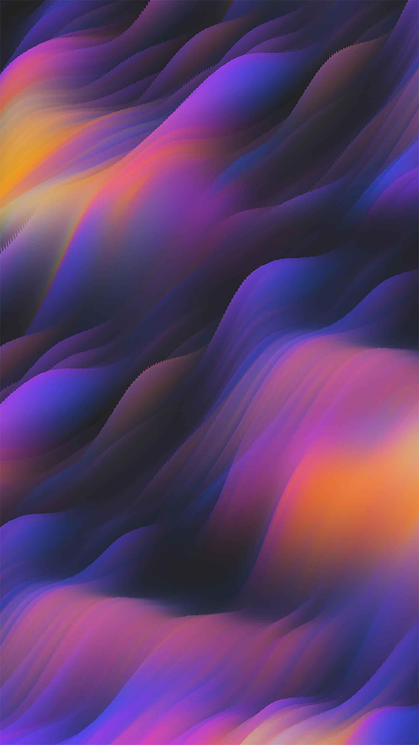 Alpha Waves iPhone Wallpaper