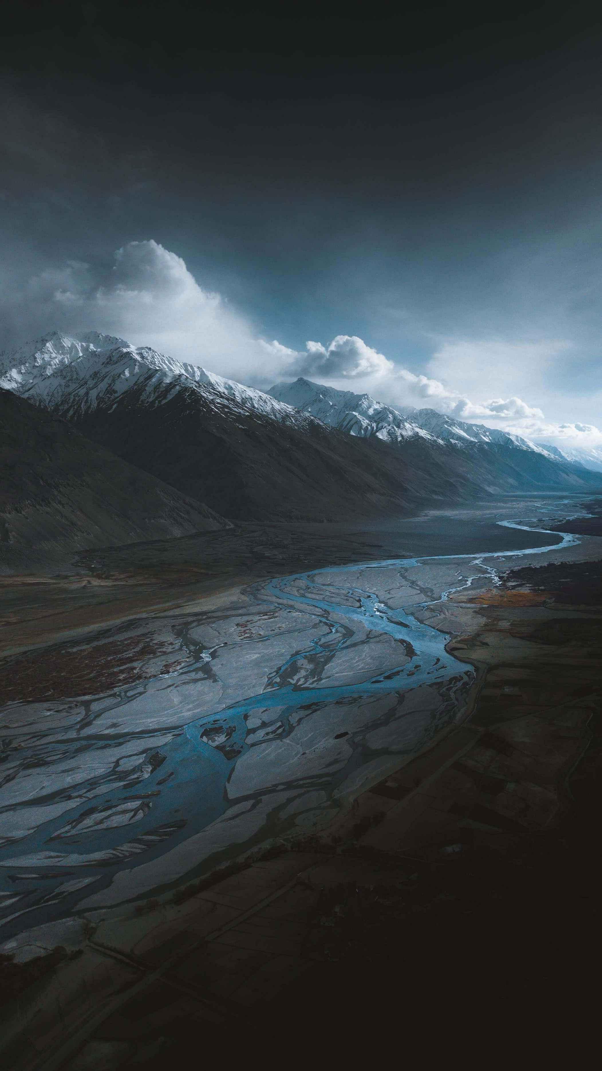 Amazing Nature Mountains Lake iPhone Wallpaper