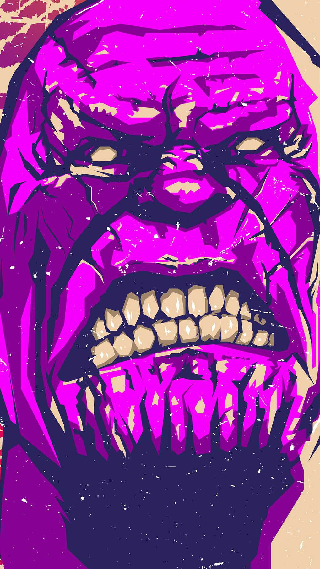 Angry Thanos Face Iphone Wallpaper Iphone Wallpapers
