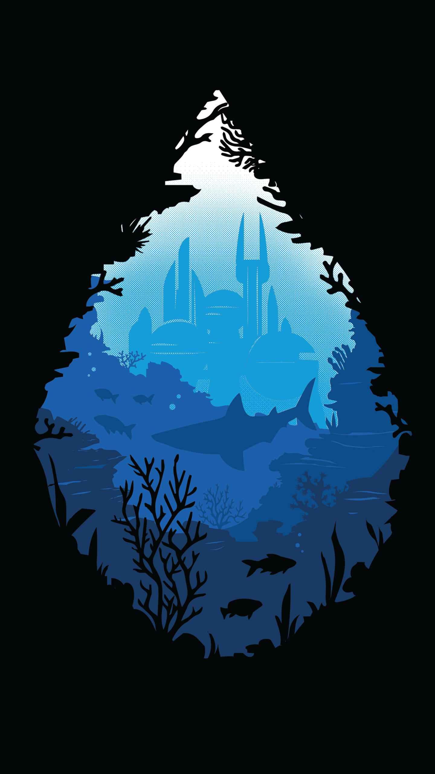 Atlantis City iPhone Wallpaper