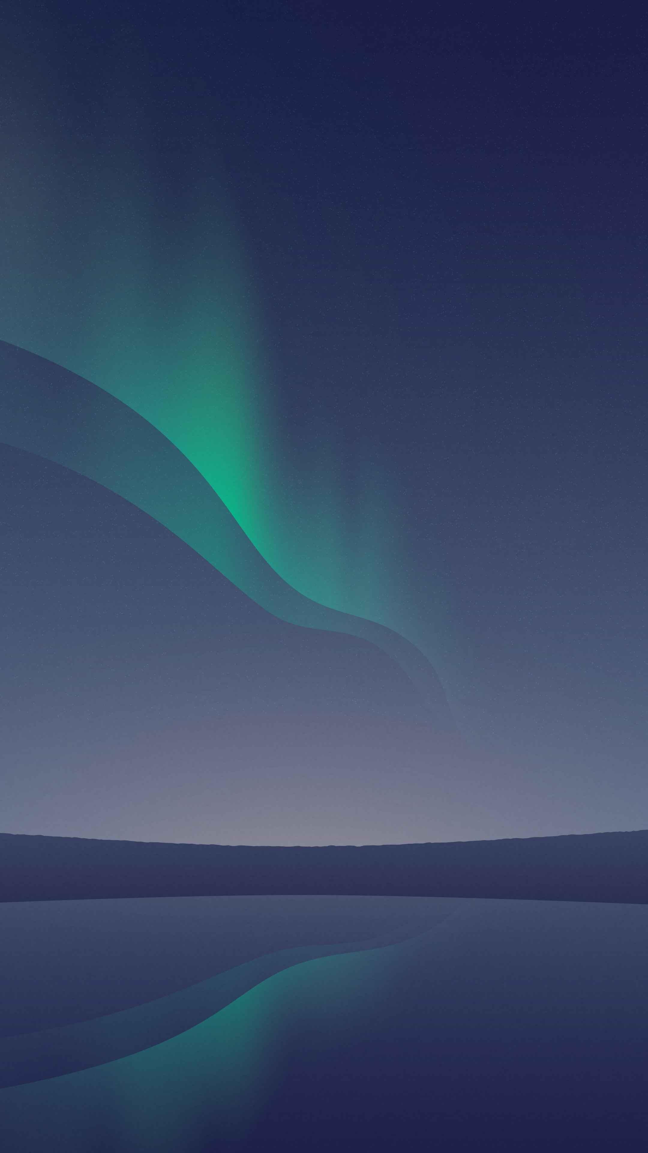 Aurora Borealis iPhone Wallpaper