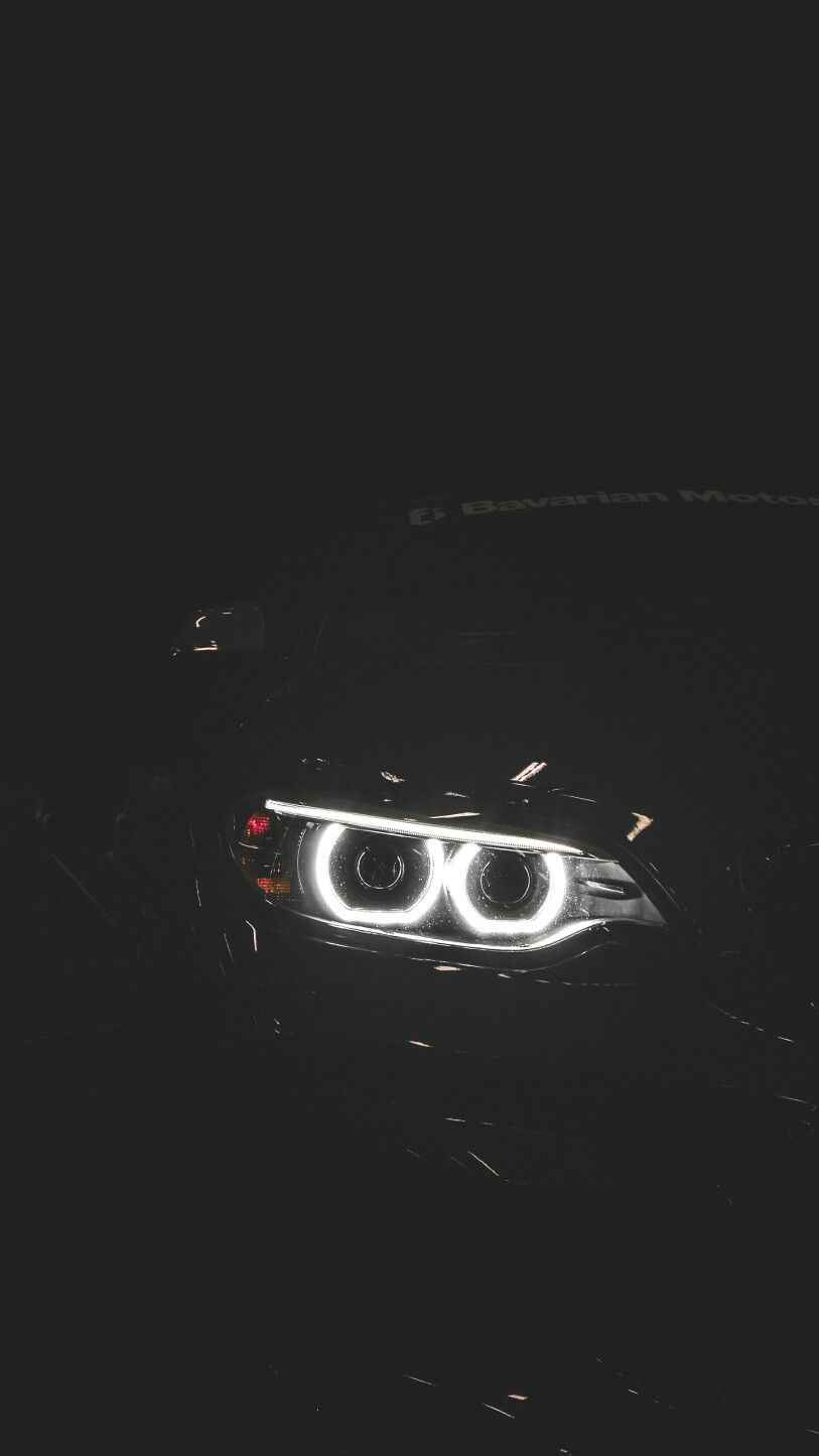 BMW Night Lights iPhone Wallpaper