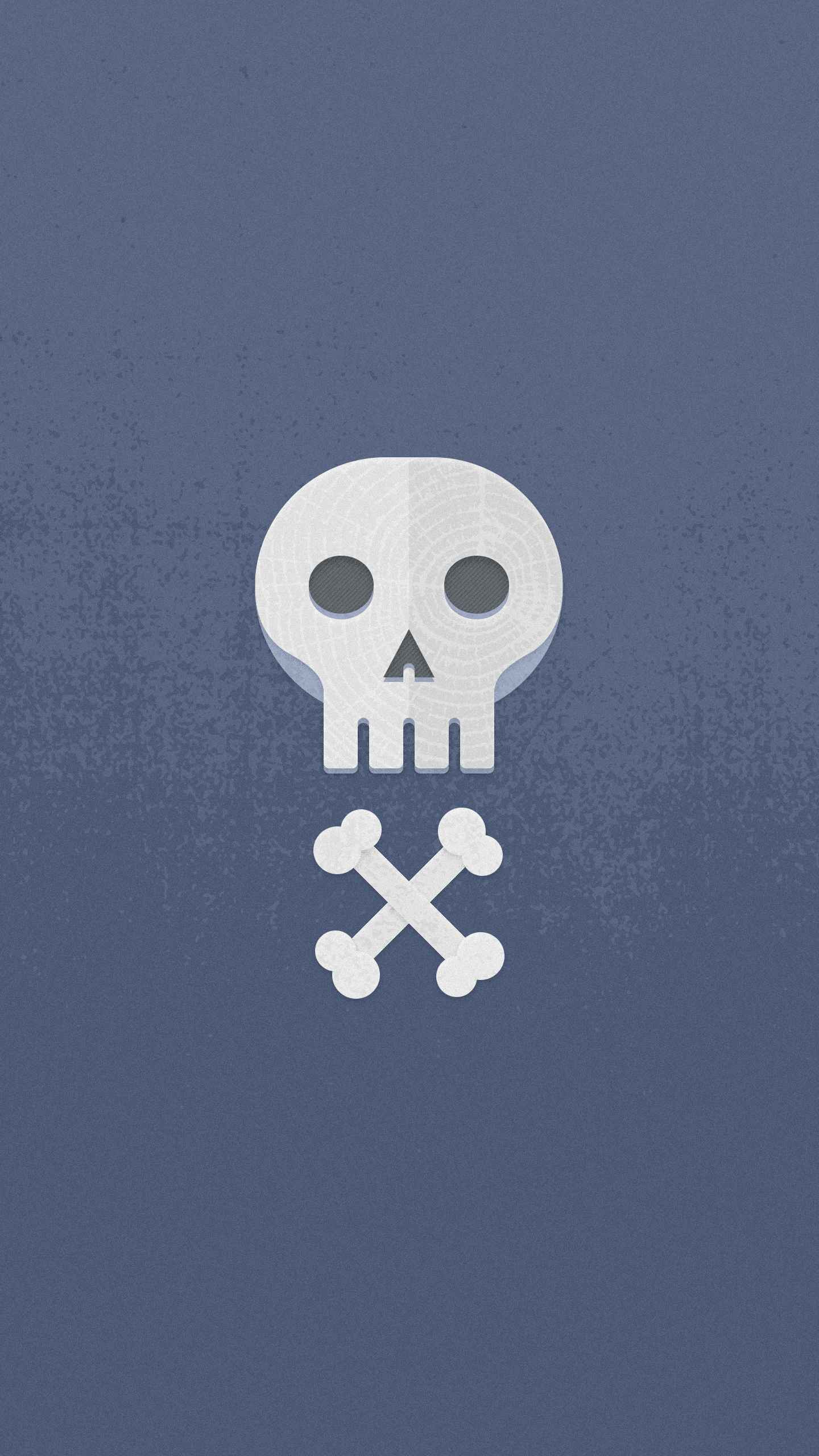 Crossbones iPhone Wallpaper
