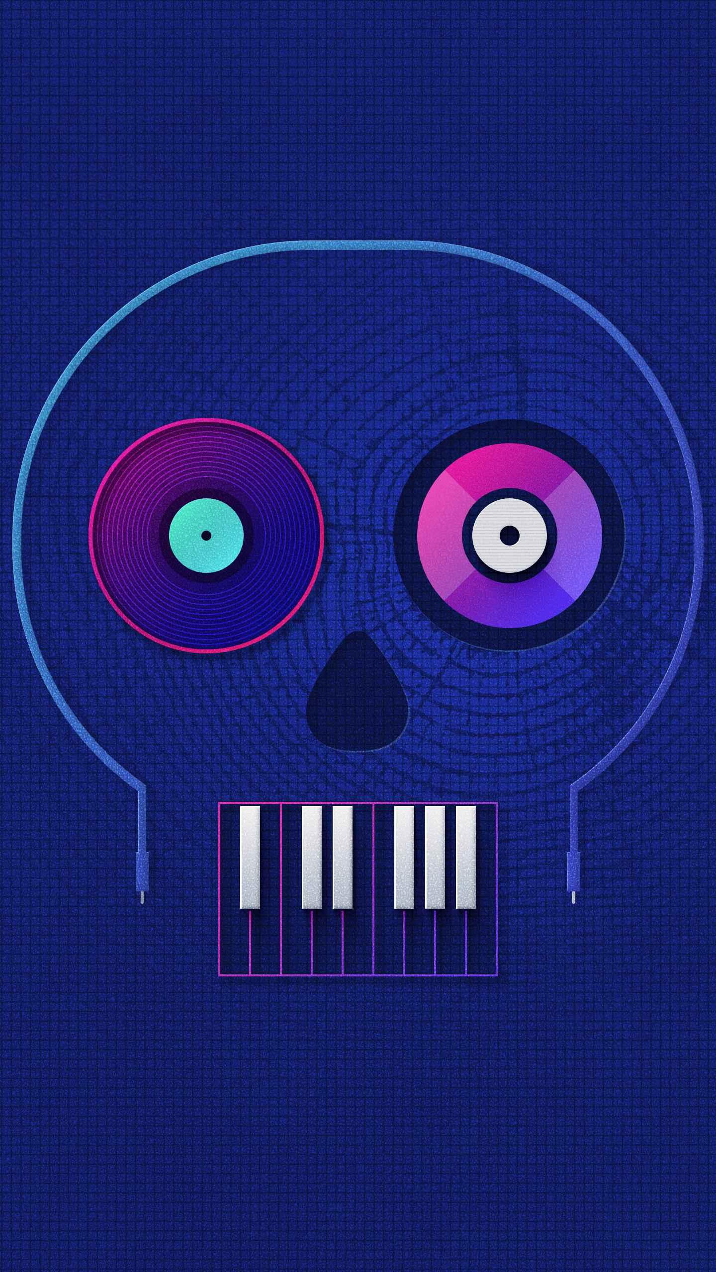 DJ Skully iPhone Wallpaper