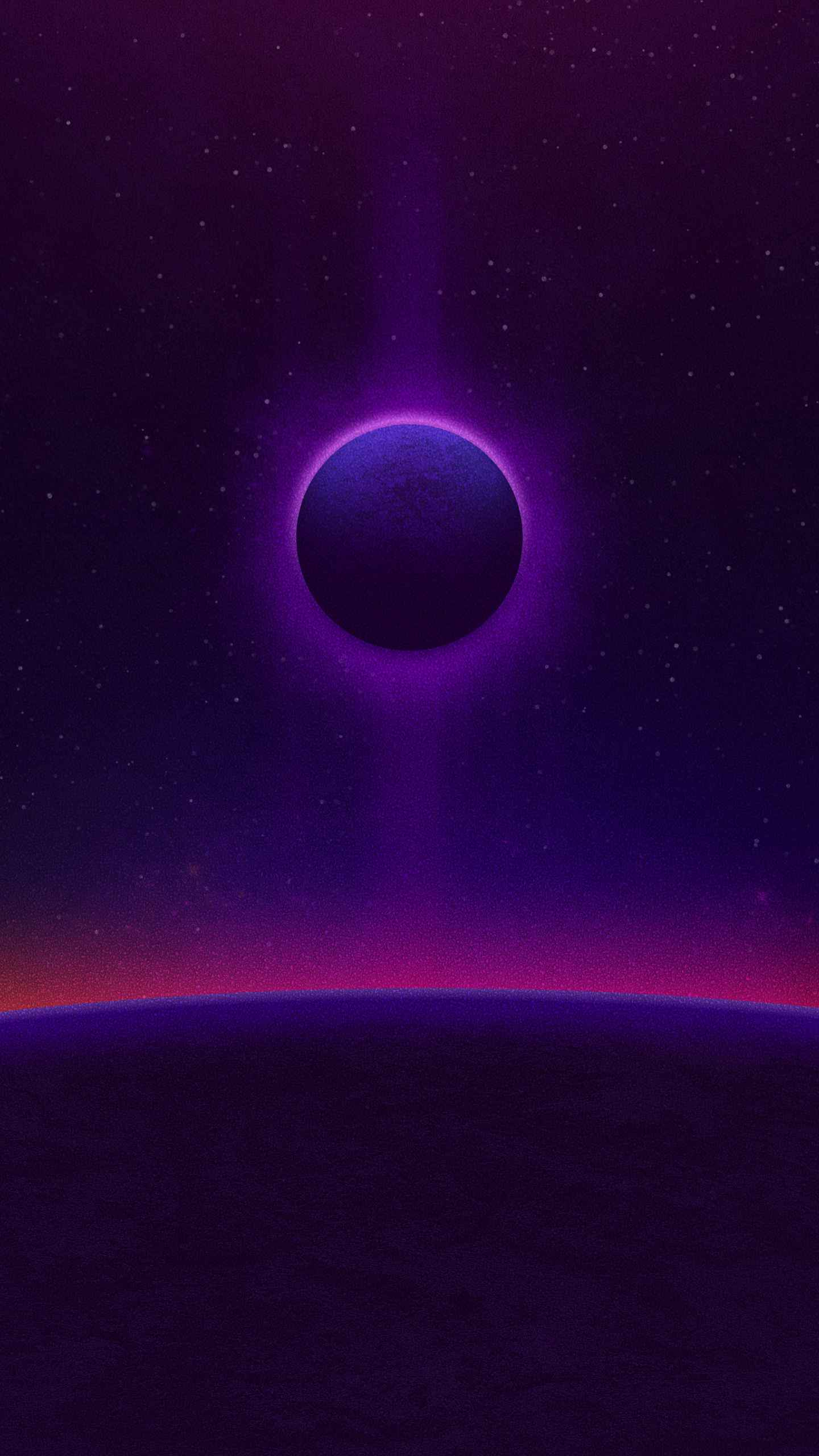Dazzled Horizon iPhone Wallpaper