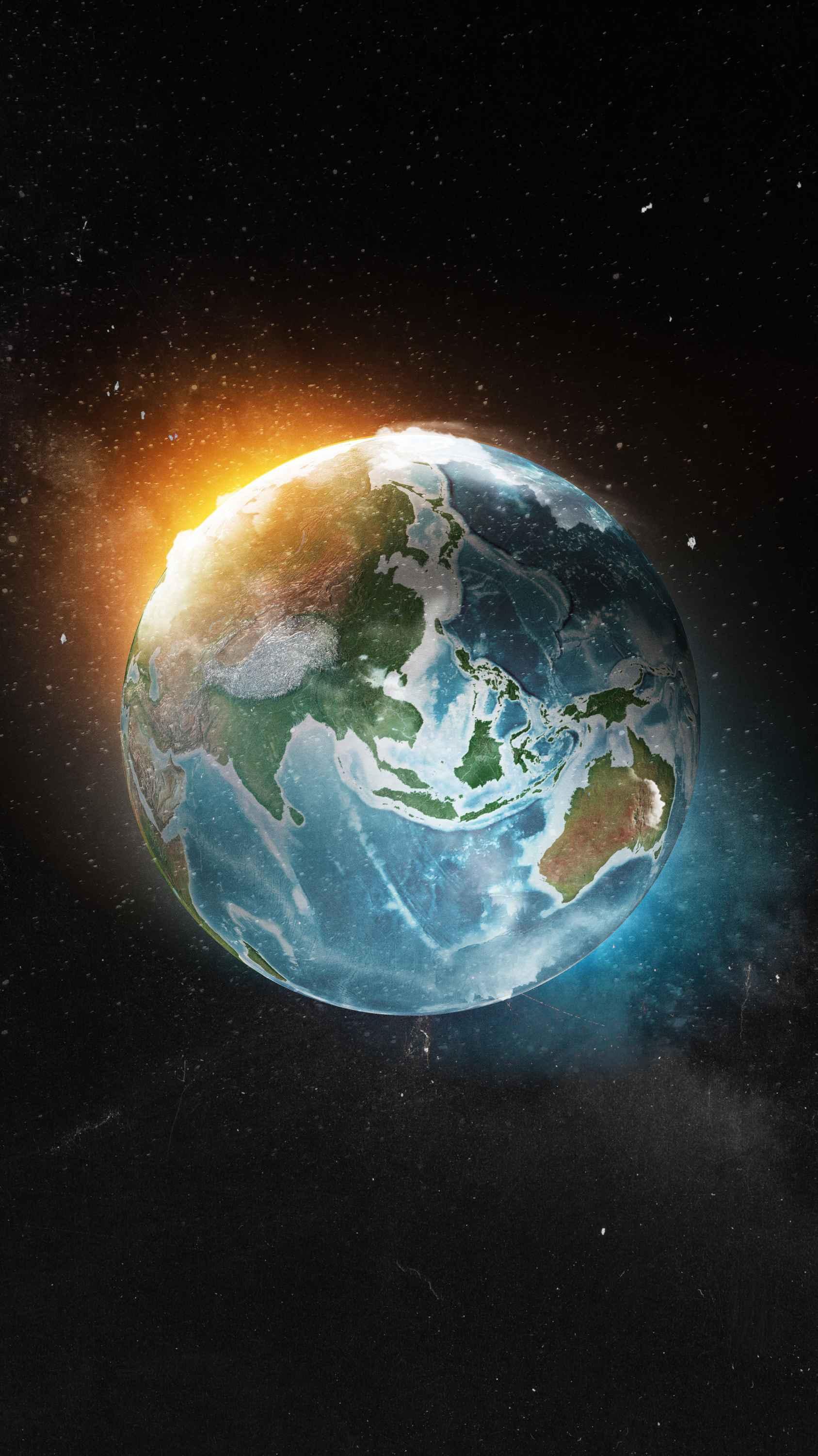 Earth HD iPhone Wallpaper