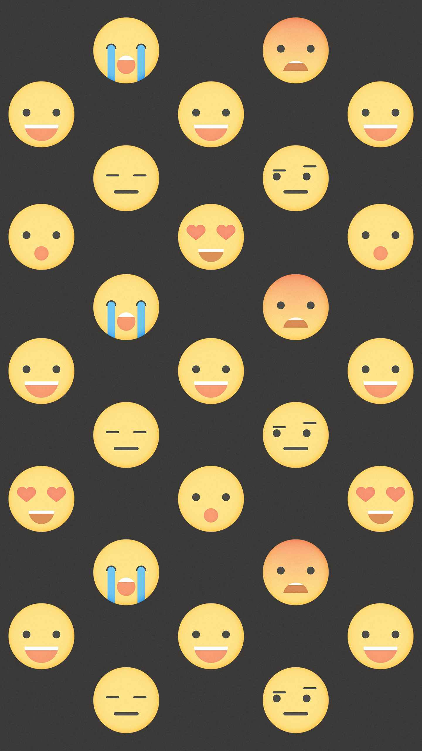 Emoji iPhone Wallpaper
