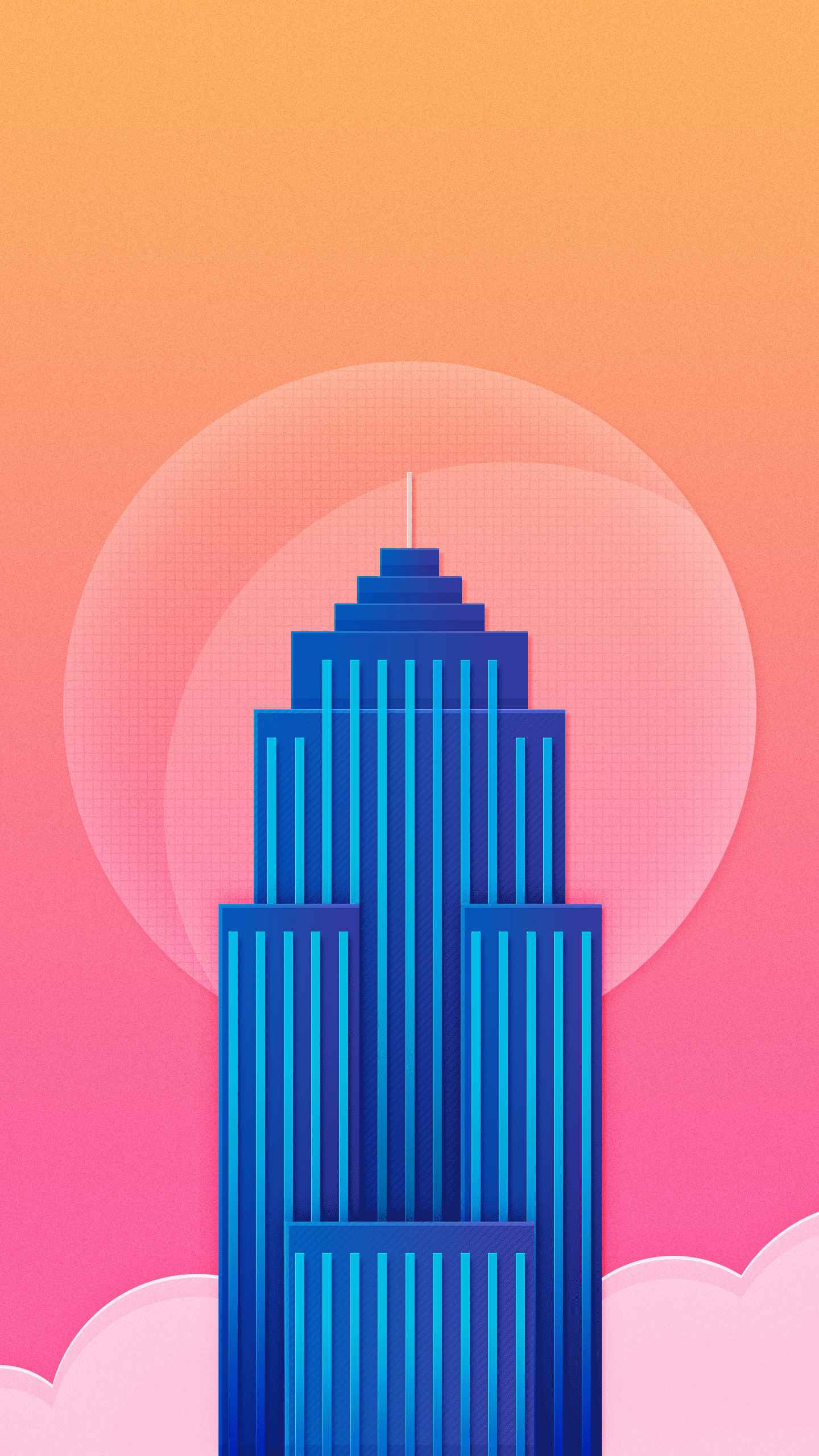 Empire State Building iPhone Wallpaper