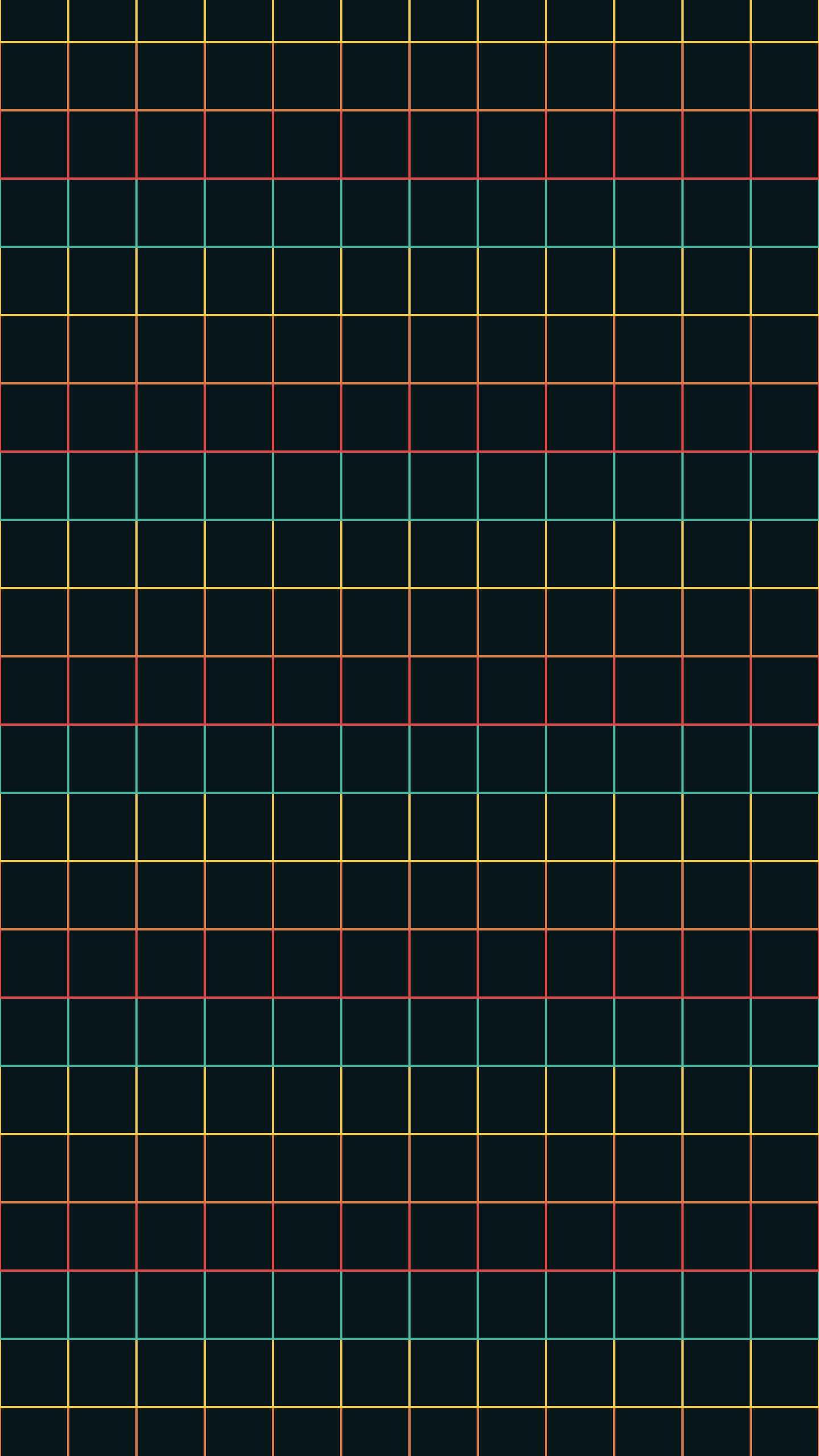Funky Grid iPhone Wallpaper
