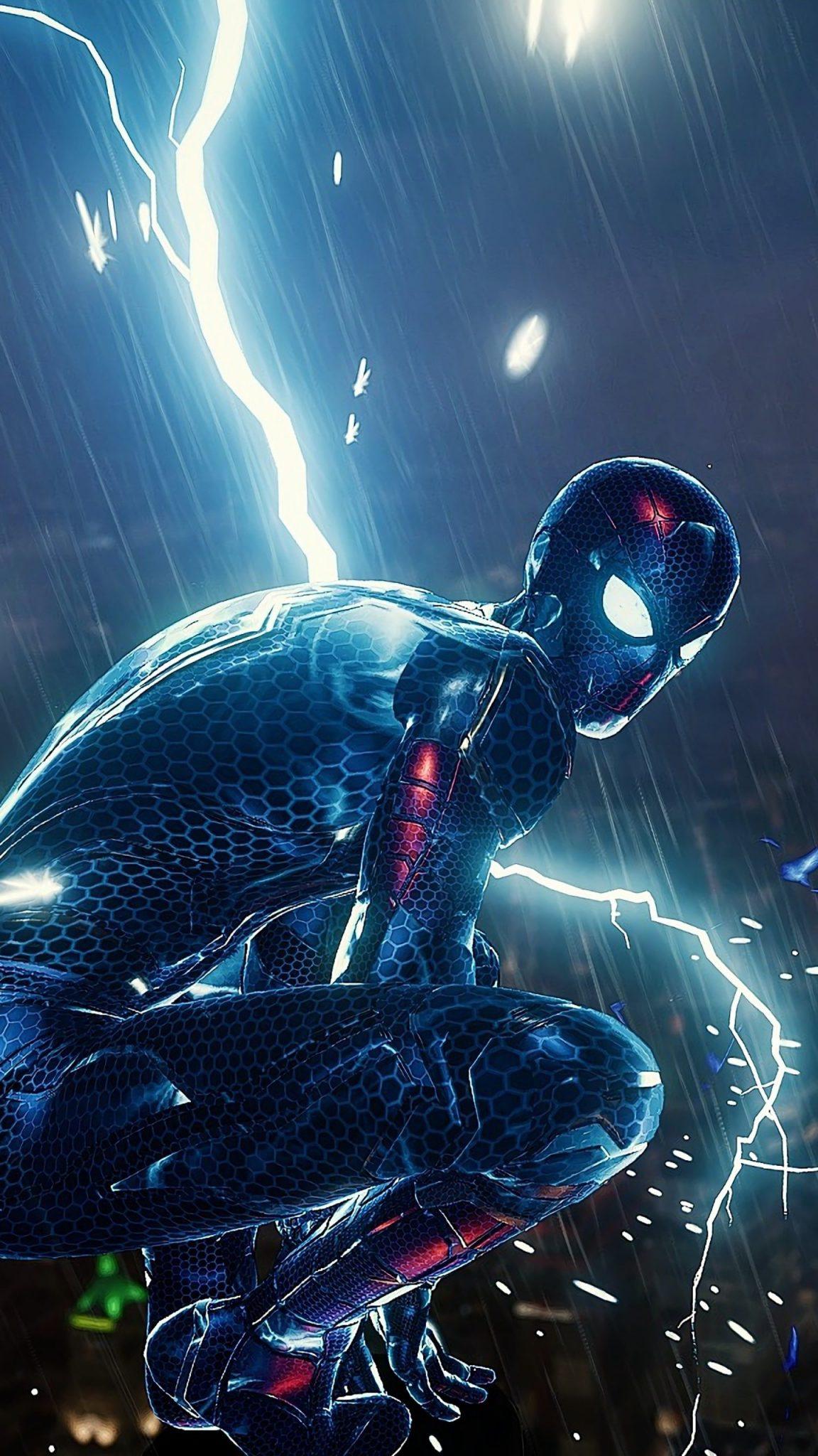 Future Spiderman Wallpaper - iPhone Wallpapers