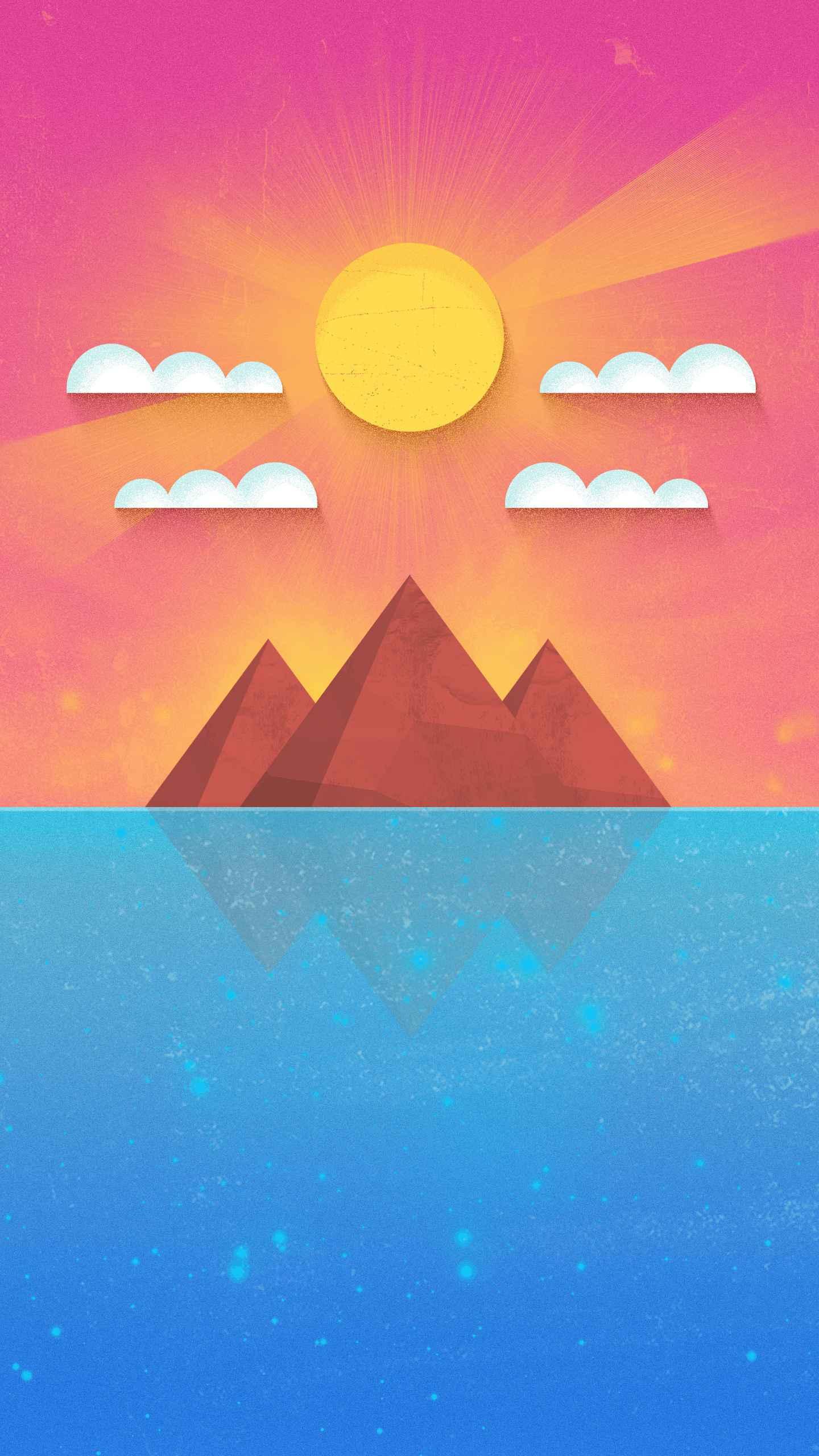 Gleam of Glory iPhone Wallpaper