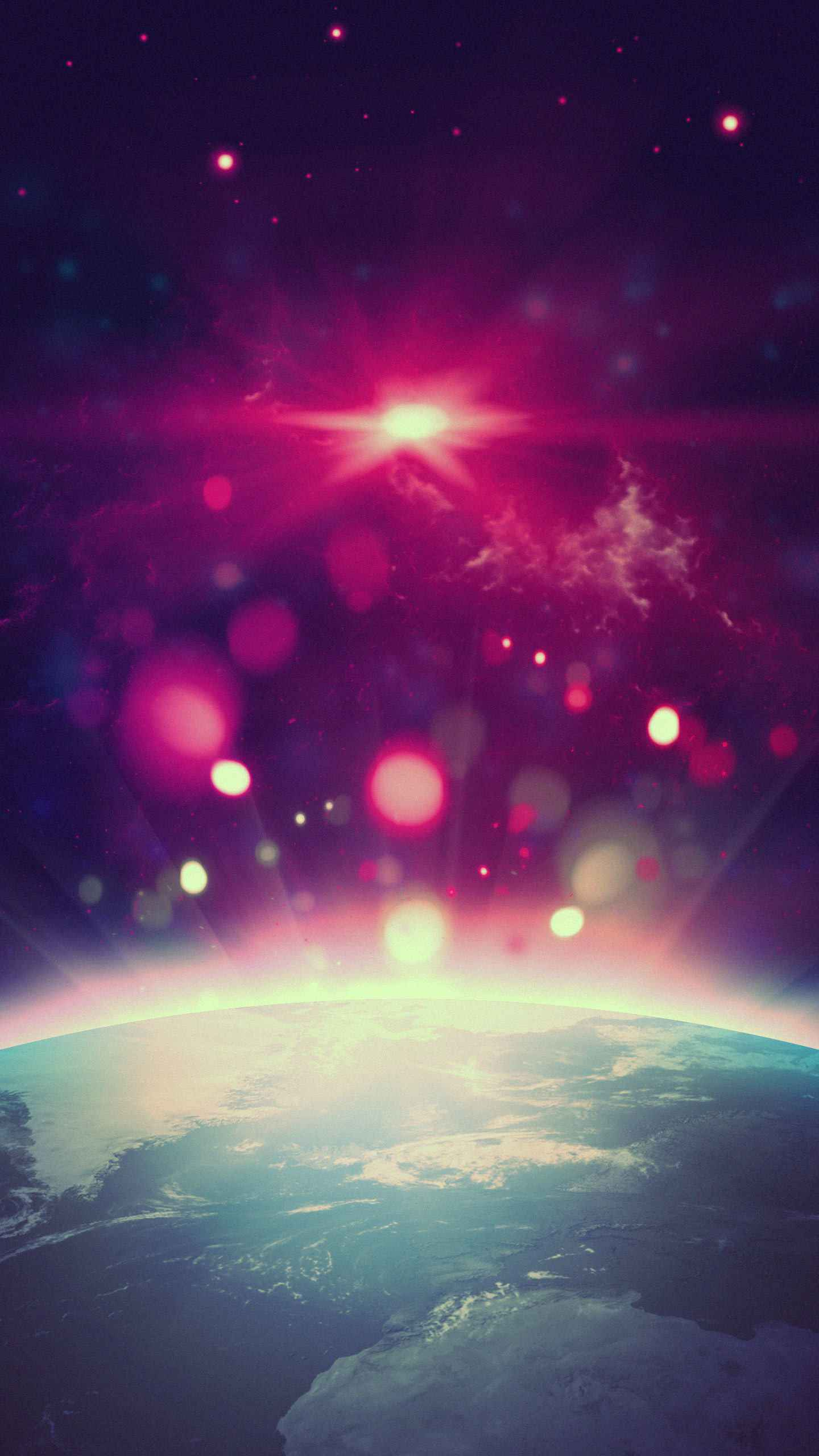 Glory Earth iPhone Wallpaper