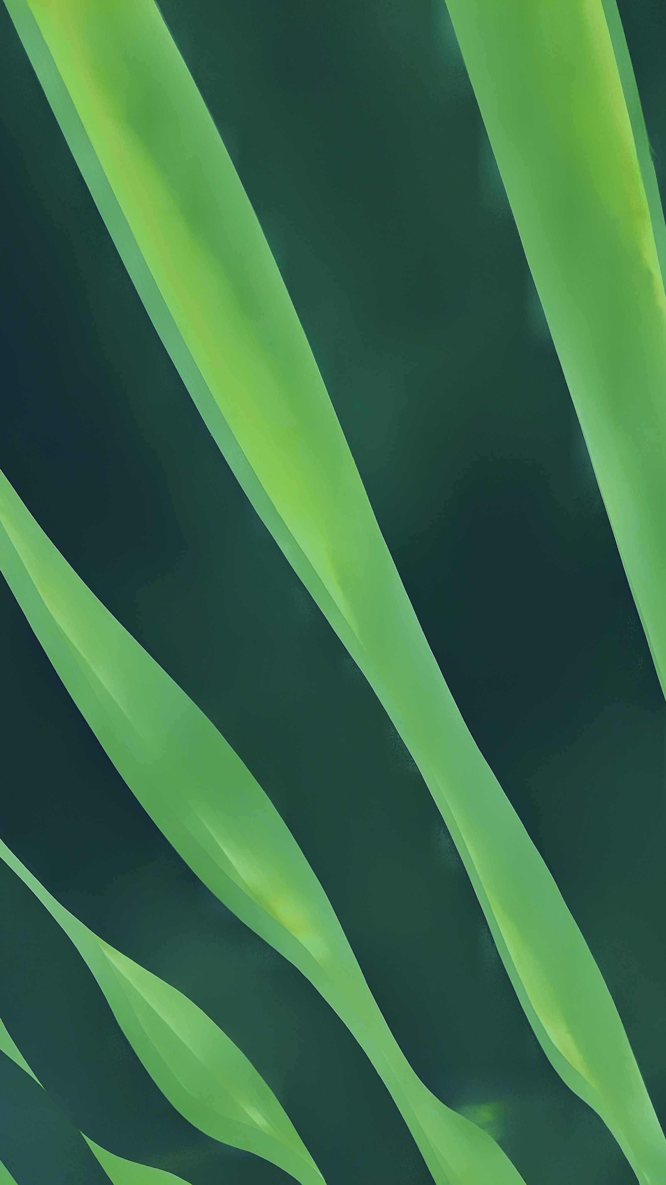 Green Wave iPhone Wallpaper