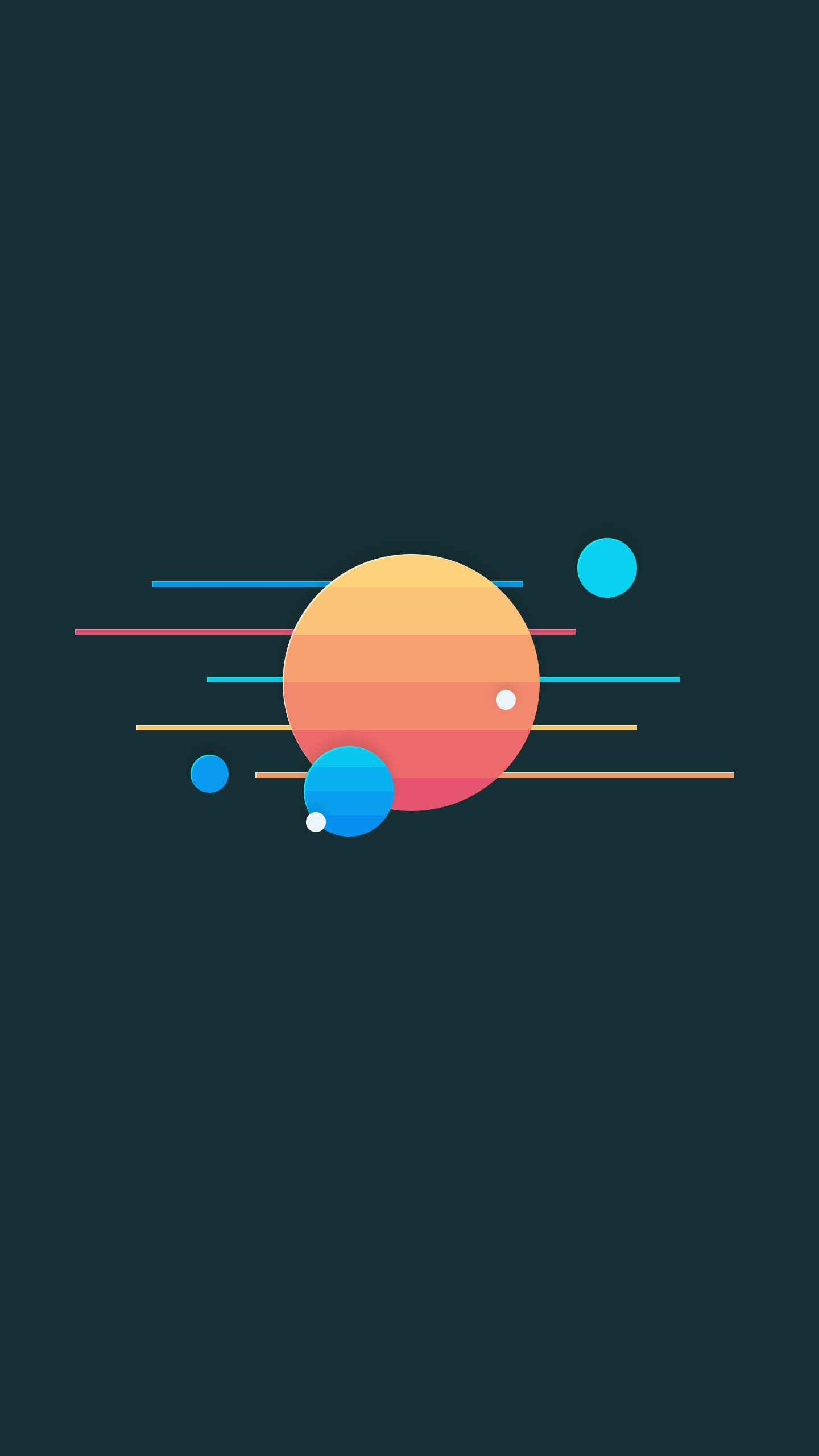 Jupiter Run iPhone Wallpaper