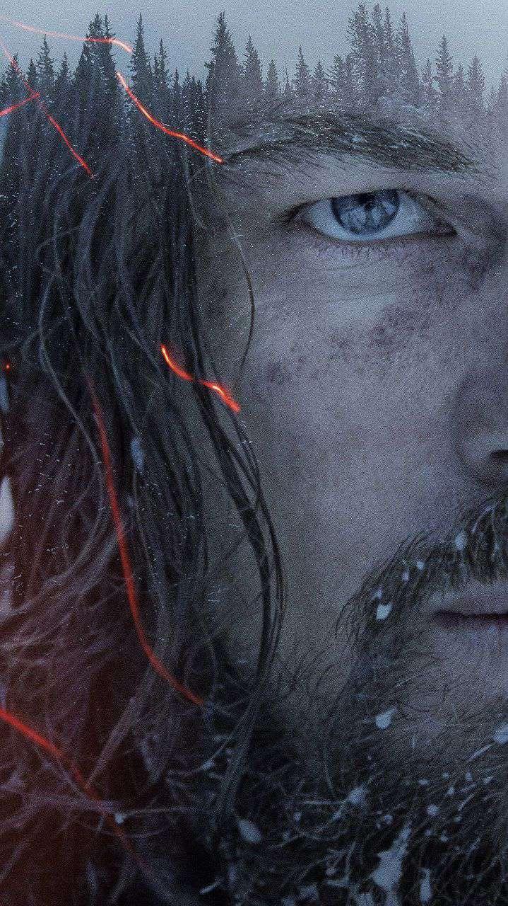 Leonardo DiCaprio The Revenant Art iPhone Wallpaper
