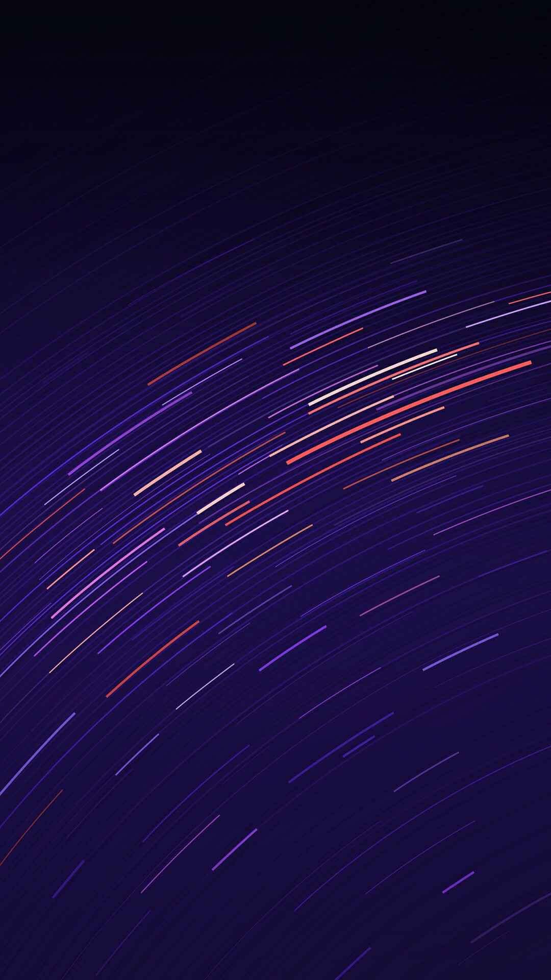 Long Exposure Stars Abstract iPhone Wallpaper