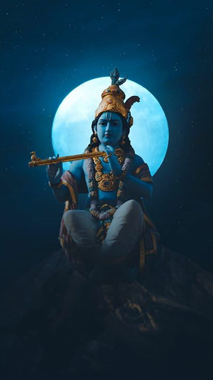 Lord Krishna iPhone Wallpaper