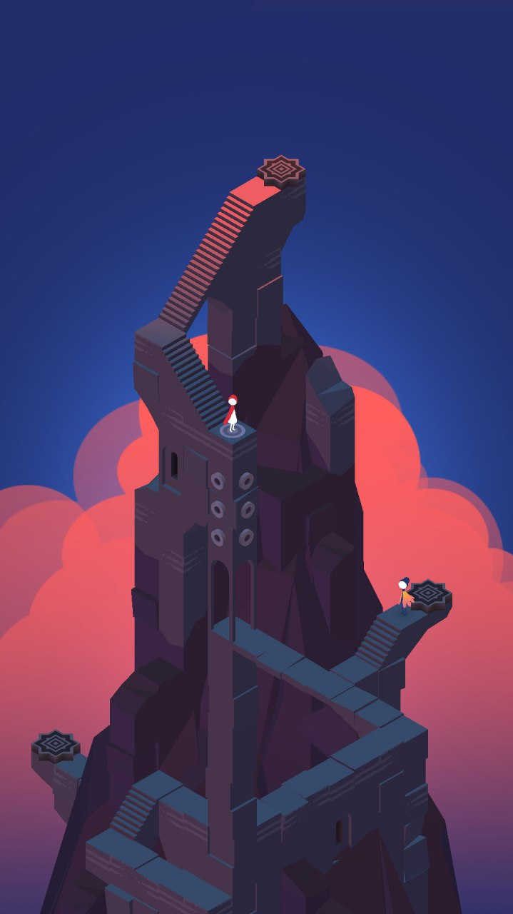 Monument Valley iPhone Wallpaper
