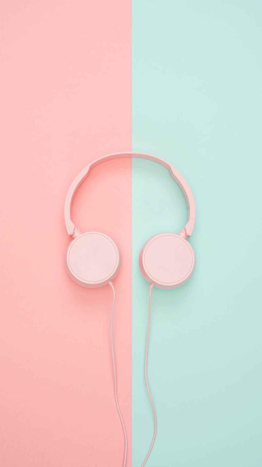 Music Headphones iPhone Wallpaper