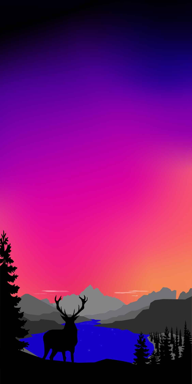 Nature Art Forest HD iPhone Wallpaper