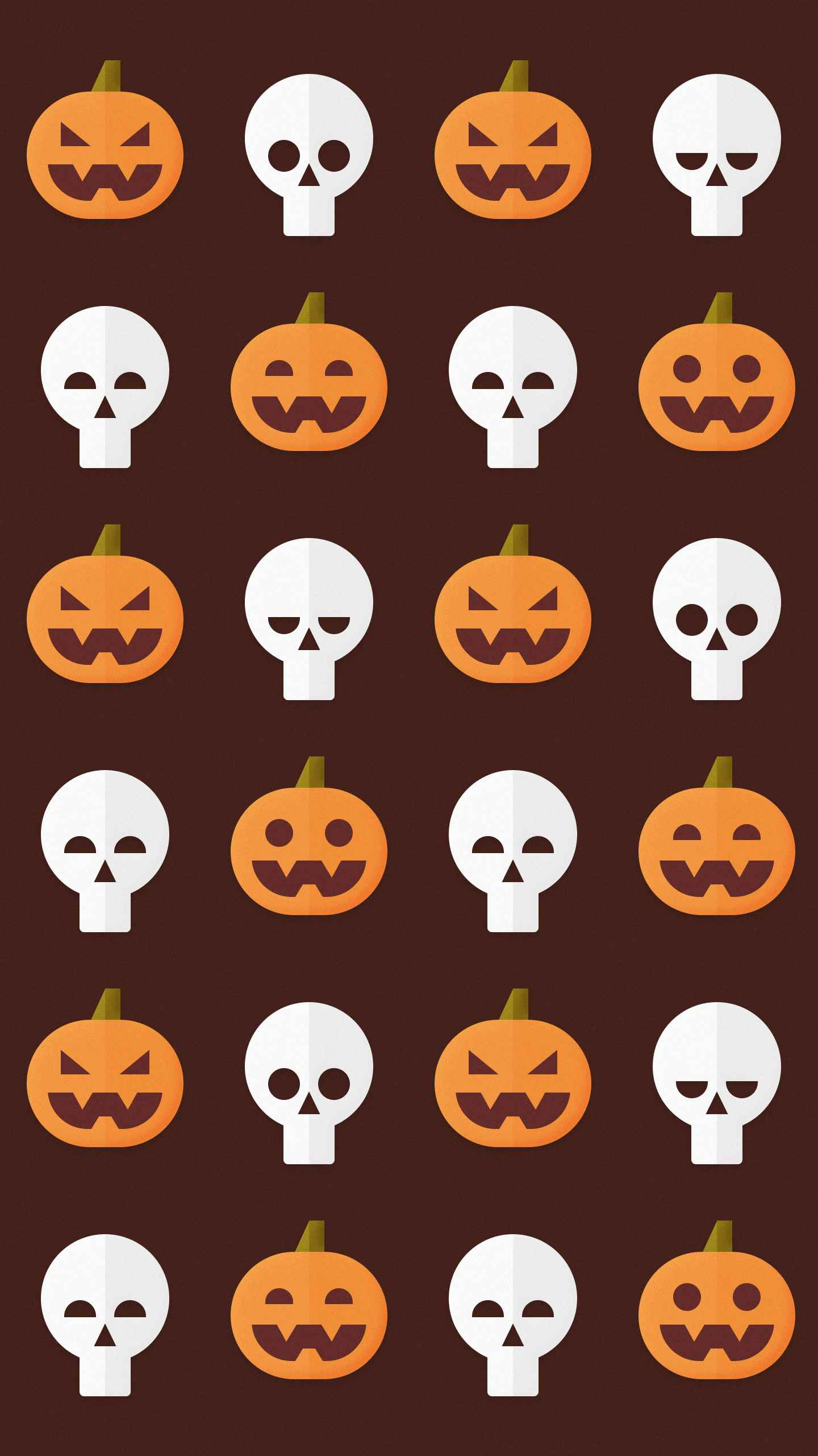 Pumpkin Spice Halloween iPhone Wallpaper