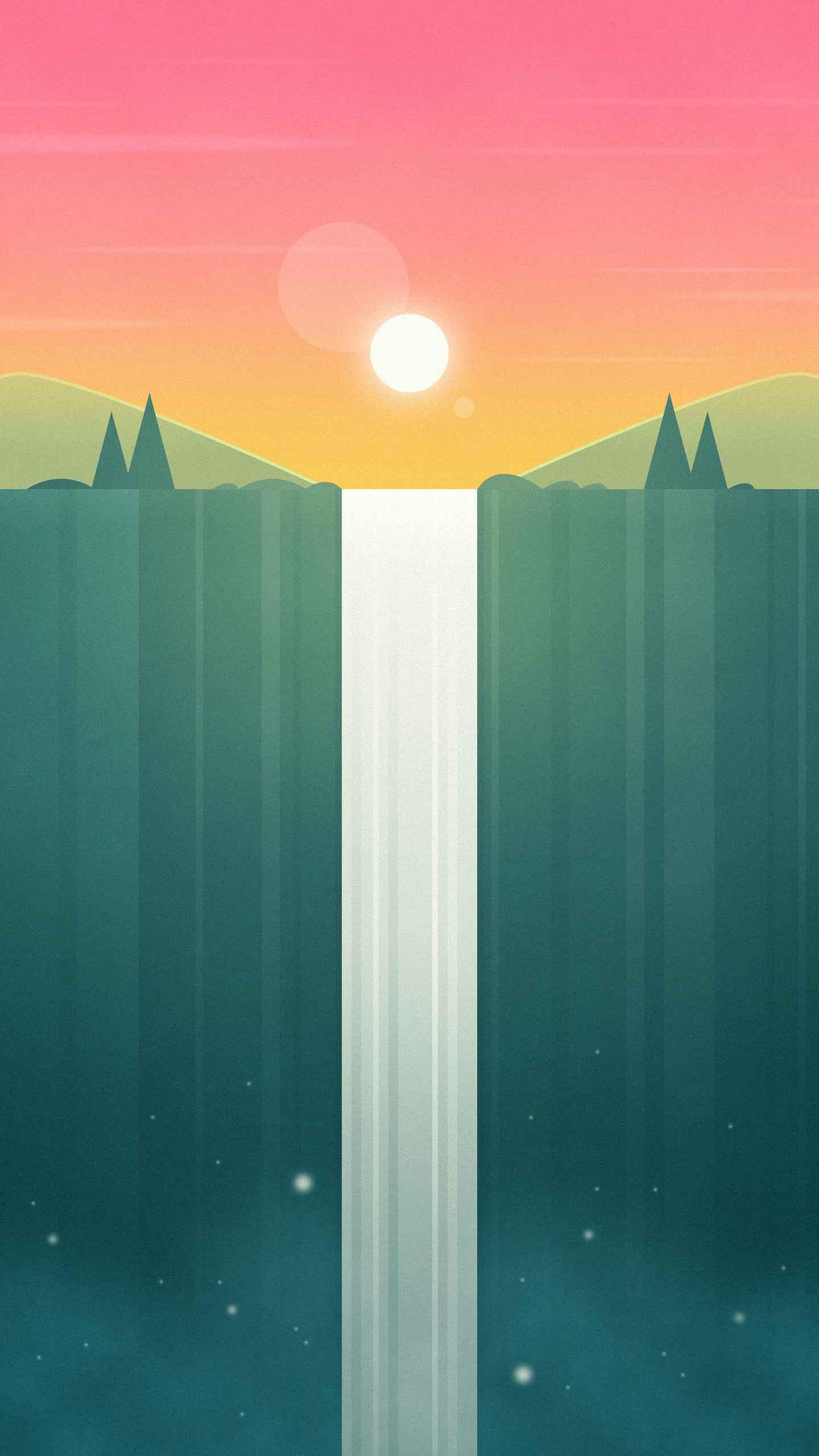 Rapid Falls iPhone Wallpaper