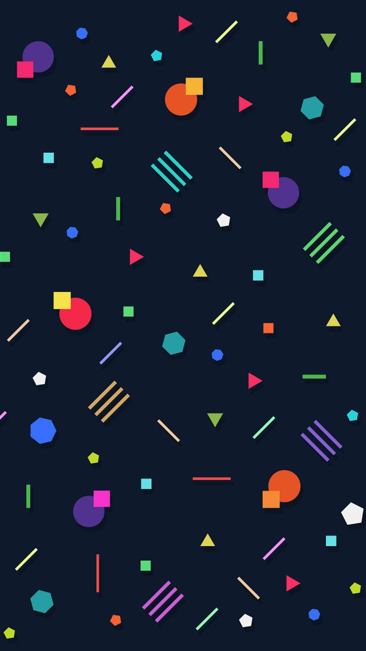 Simple Dots iPhone Wallpaper