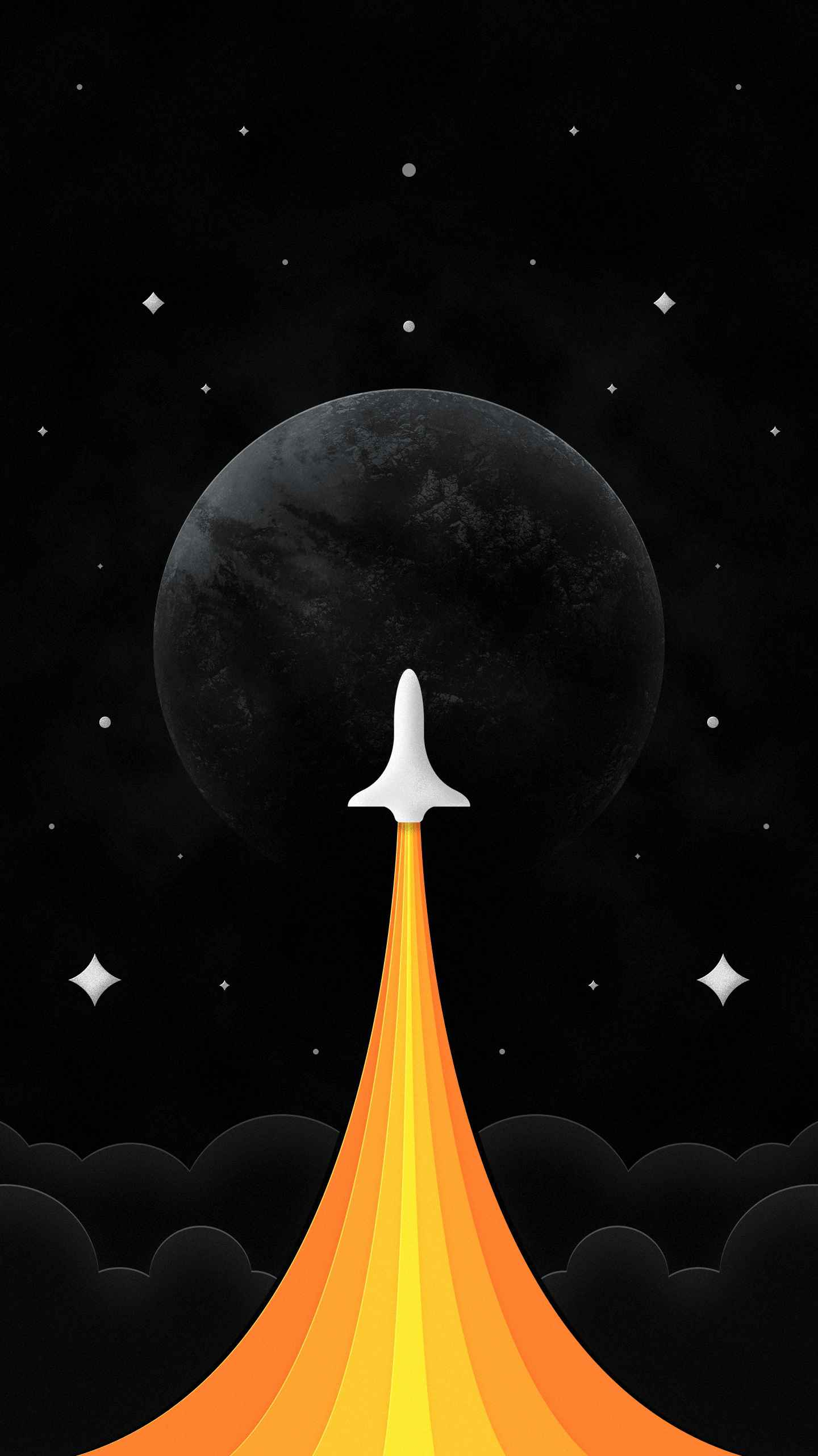Space Expedition iPhone Wallpaper
