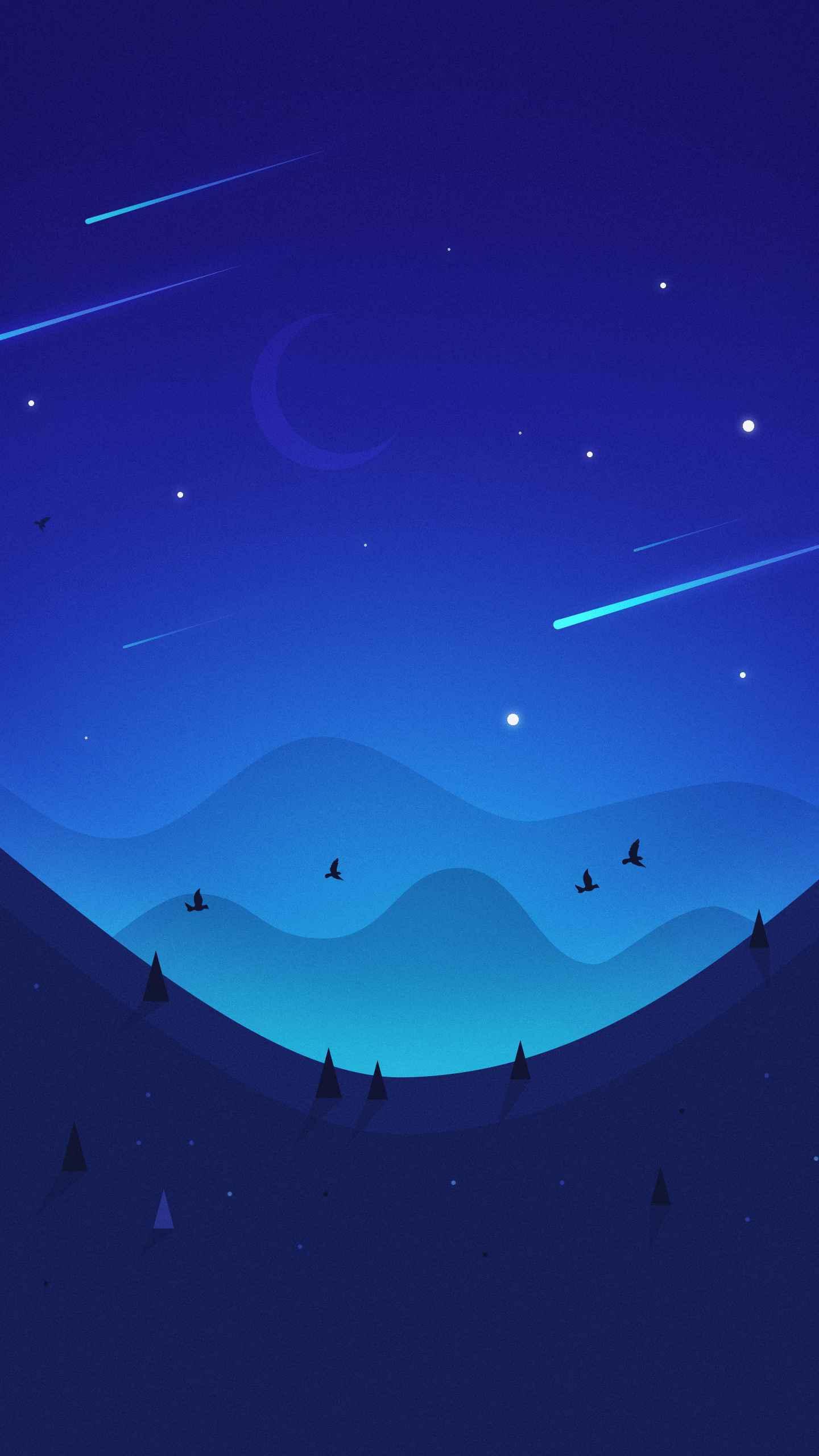 Star Field iPhone Wallpaper