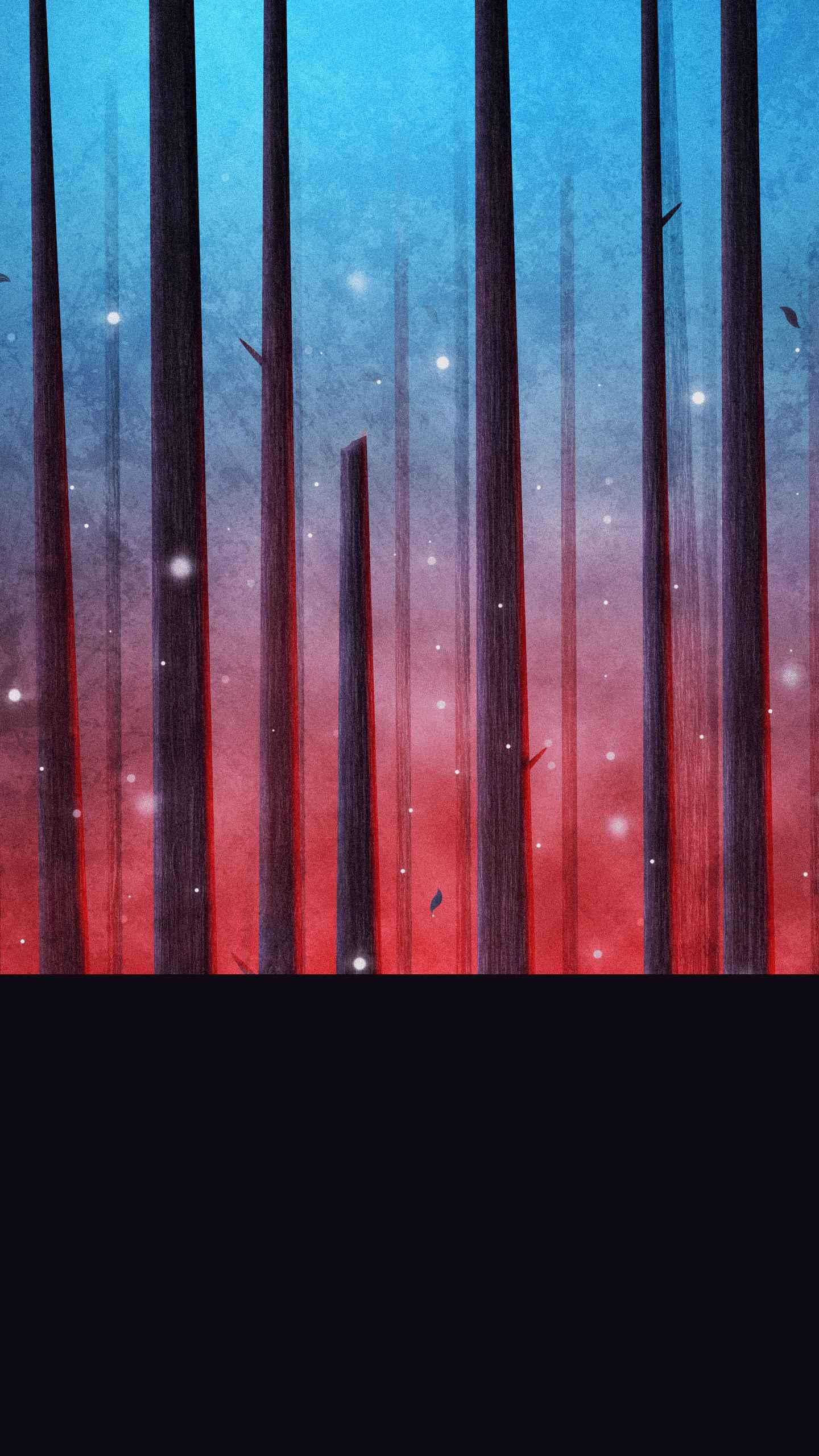 Stranger Forest iPhone Wallpaper