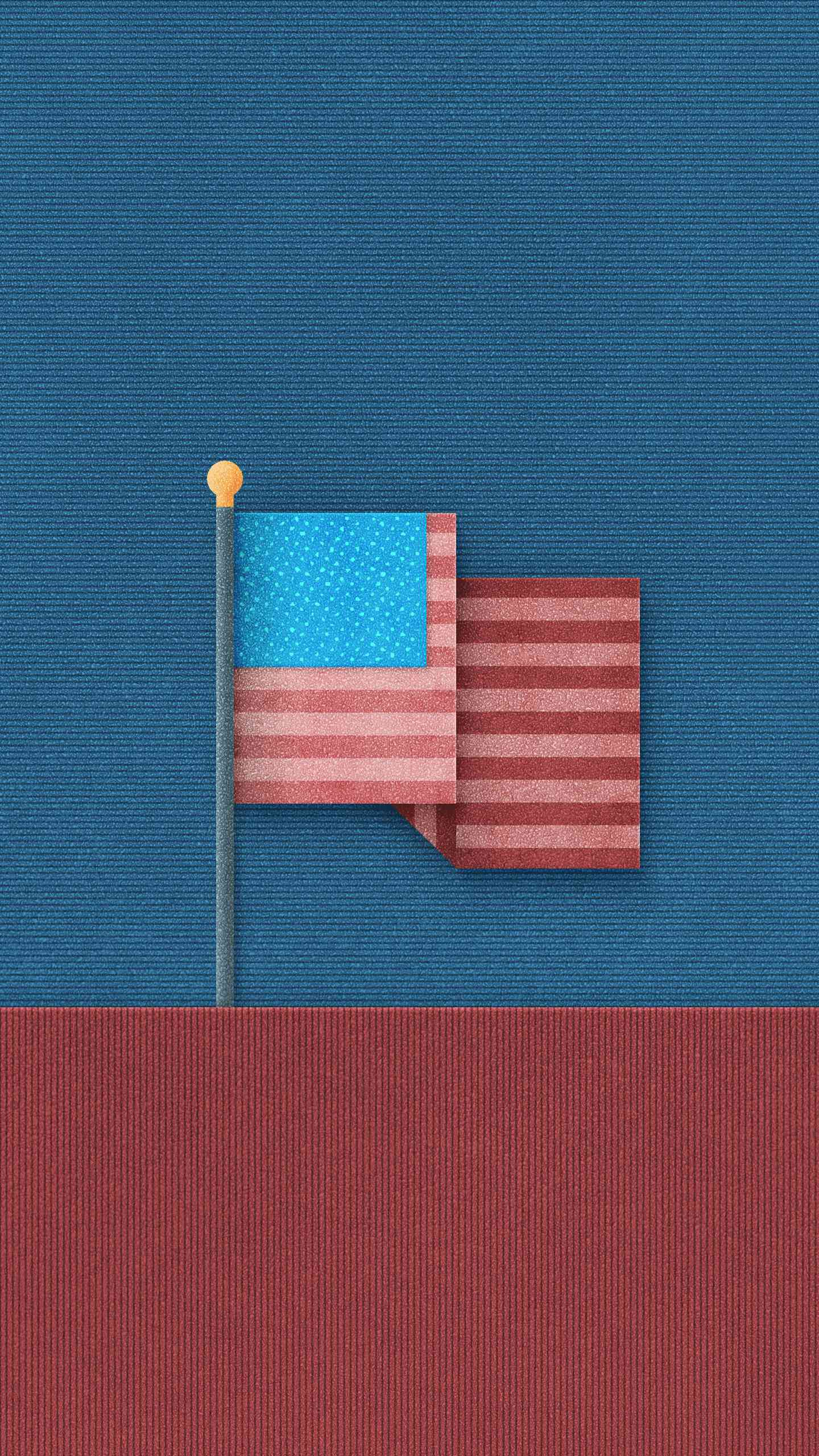 USA Flag iPhone Wallpaper