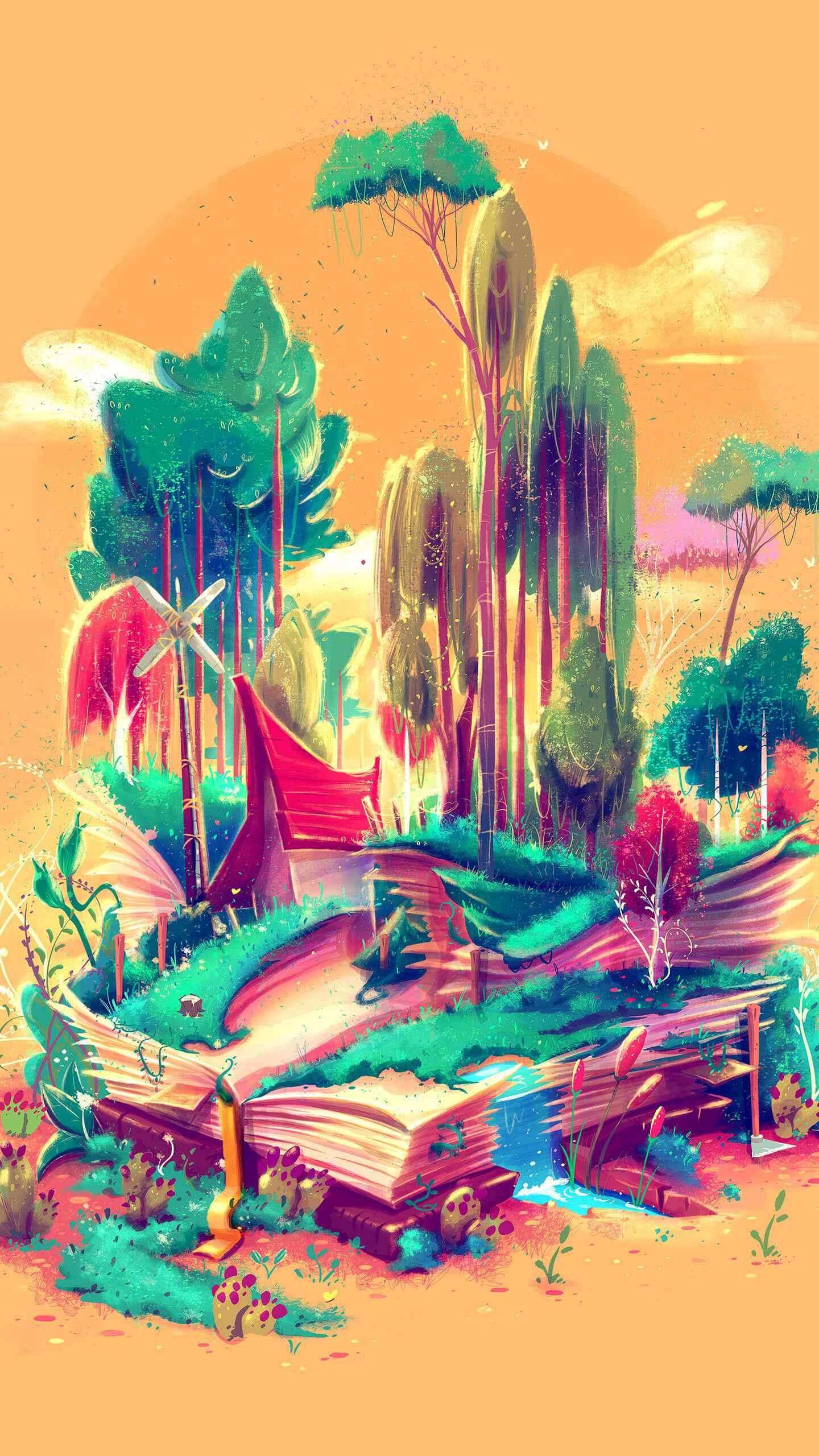 Artistic Nature iPhone Wallpaper