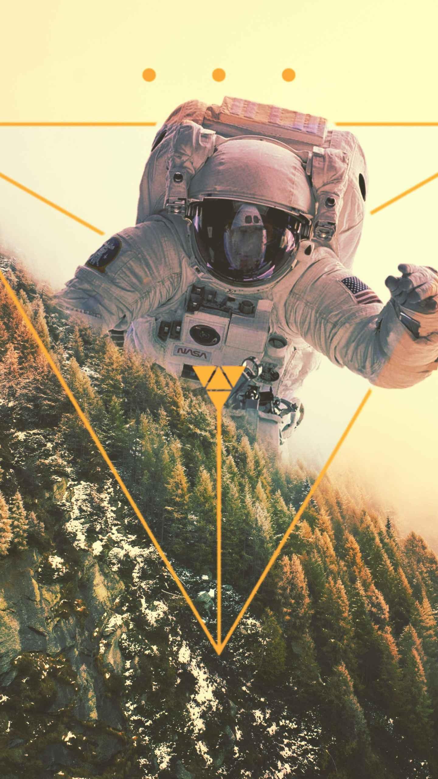 Astro Dimension iPhone Wallpaper