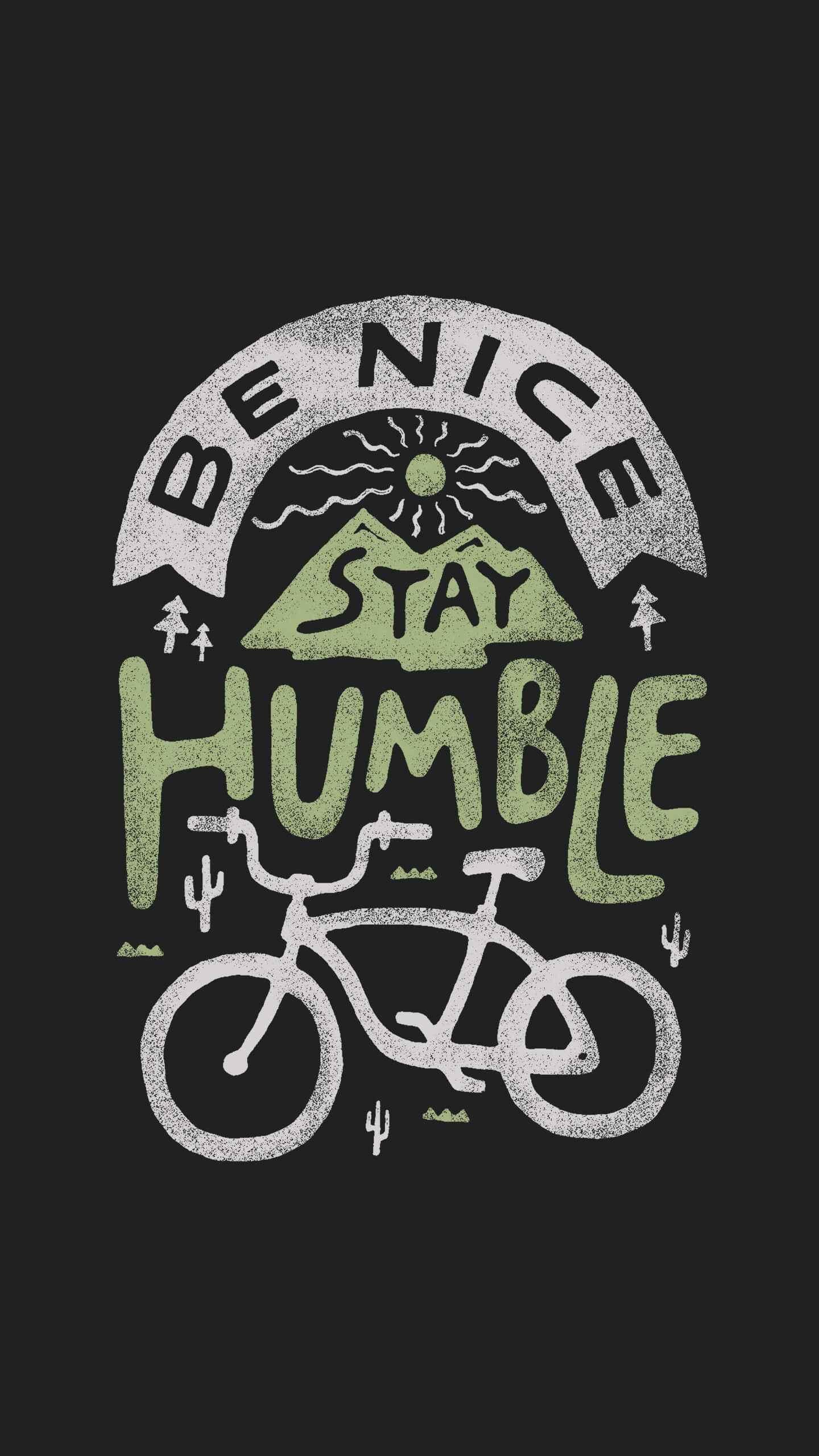 Be Nice iPhone Wallpaper